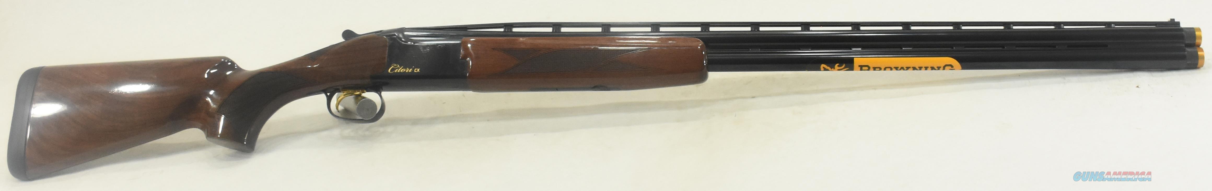 Citori CX Walnut 12Ga 32-3In 018115302  Guns > Shotguns > Browning Shotguns > Over Unders > Citori > Hunting