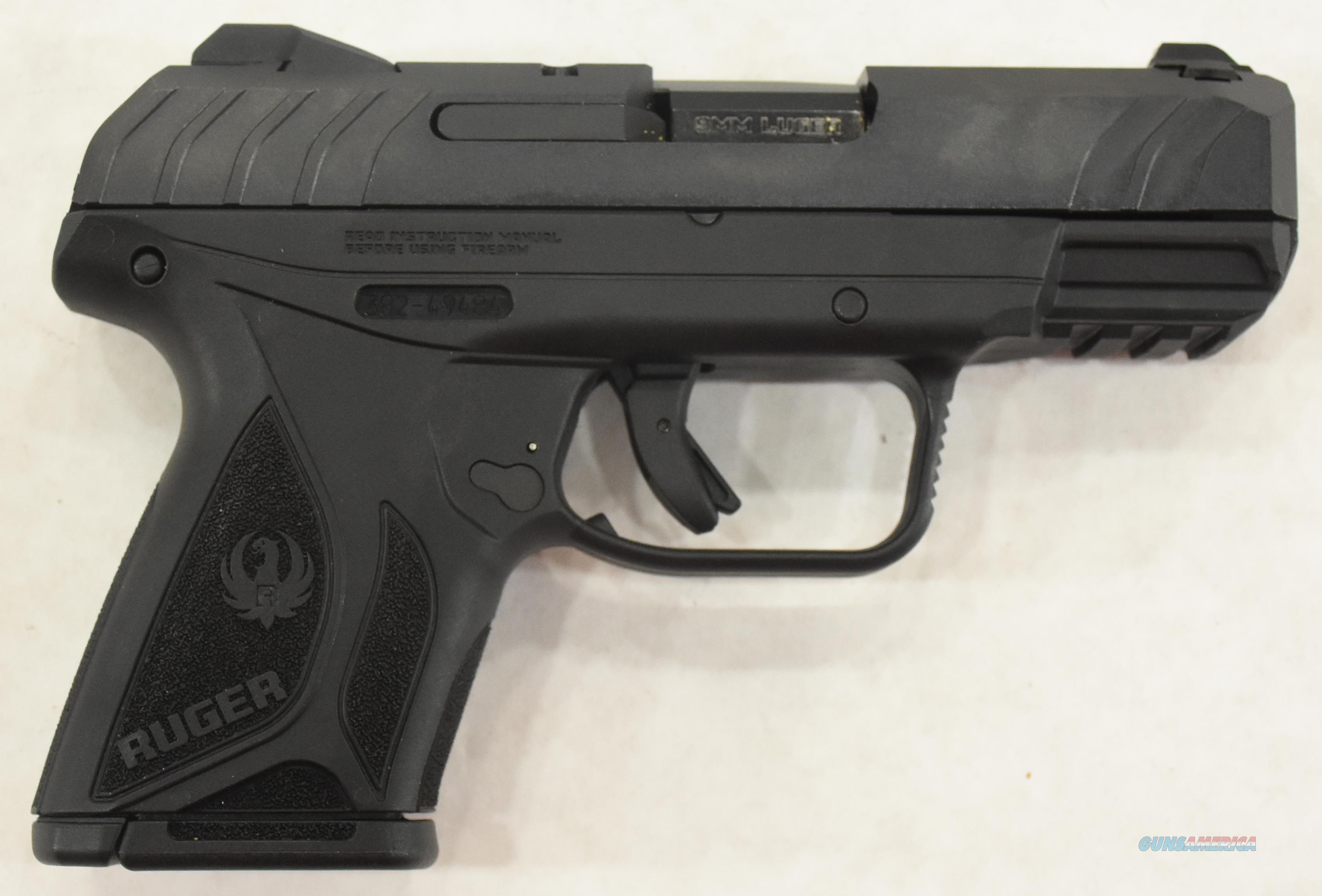 Security 9 Compact Black 9mm 3.42In  3818  Guns > Pistols > S Misc Pistols