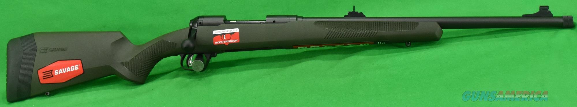 110 Hog Hunter OD Green 308Win 20In  57019  Guns > Rifles > Savage Rifles > 10/110