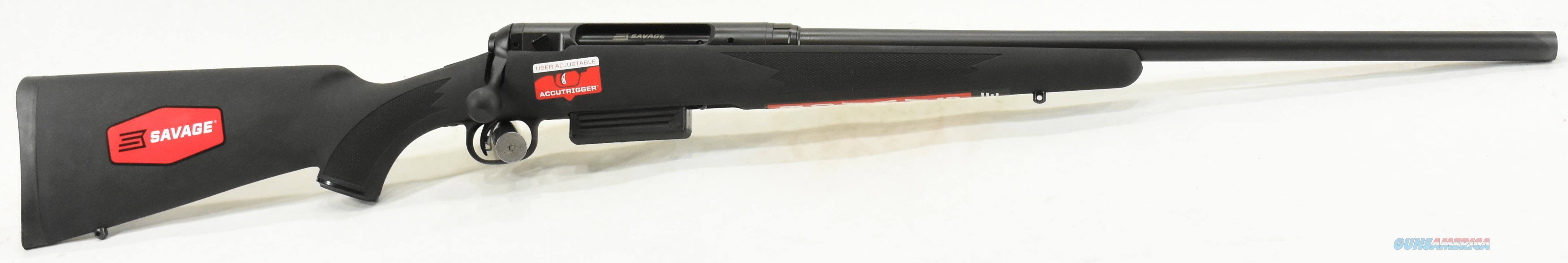 220 Slug Gun Black Syn 20Ga 22-3In 18827  Guns > Rifles > Savage Rifles > Accutrigger Models > Sporting