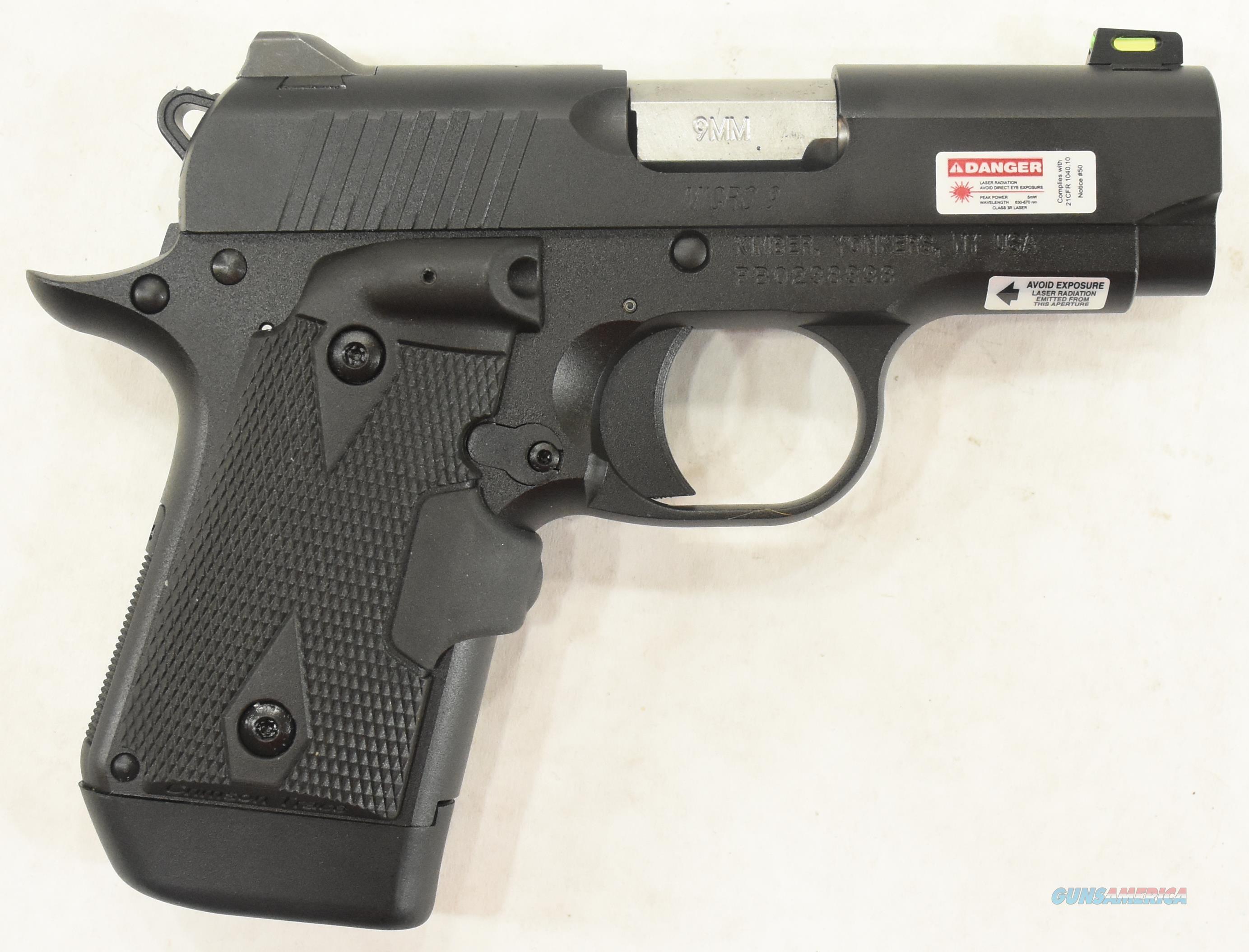 Micro 9mm Black GFO LG 9mm 3.15In  3000548  Guns