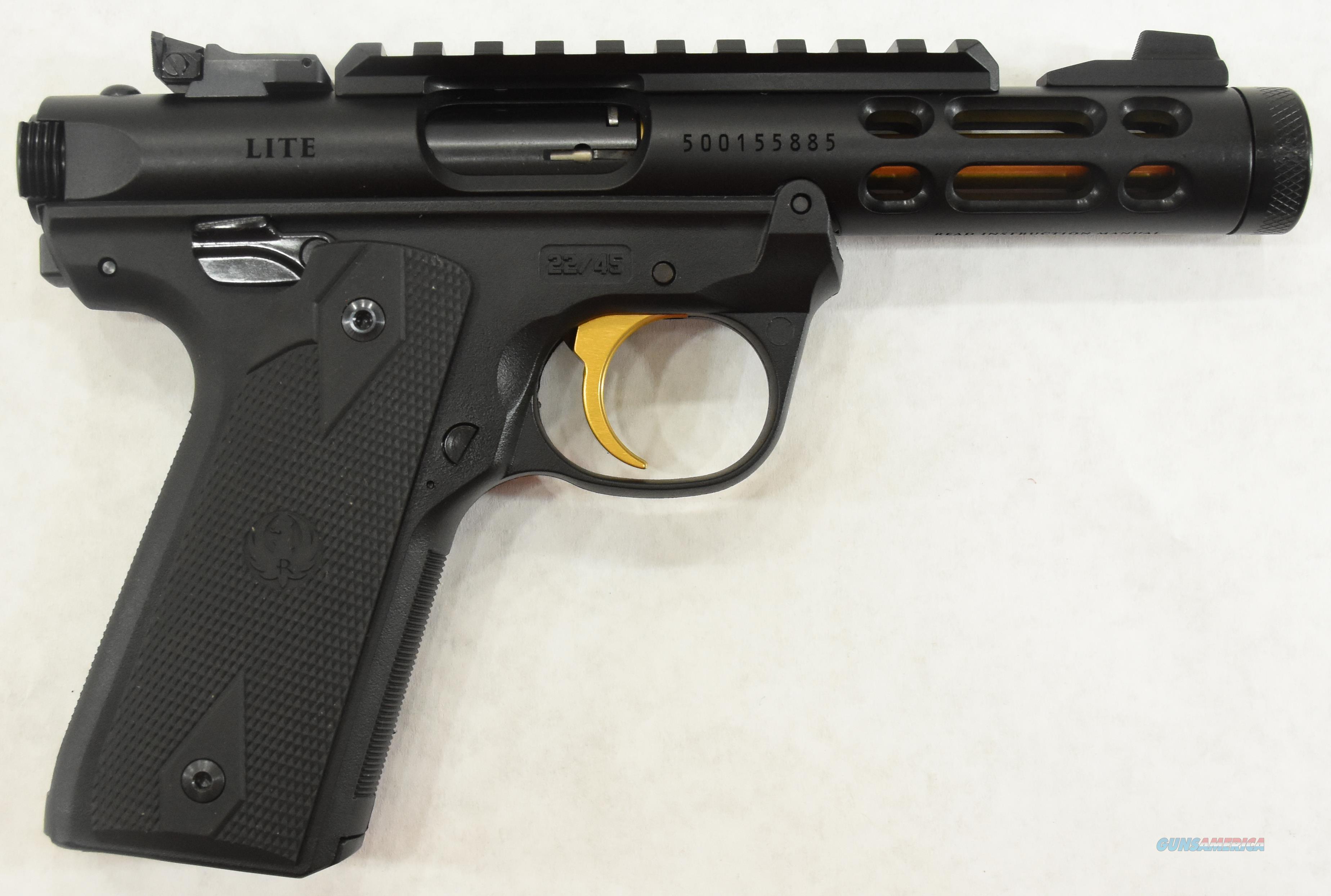 Mark IV 22/45 Lite Black 22LR 4.4In  43927  Guns > Pistols > S Misc Pistols