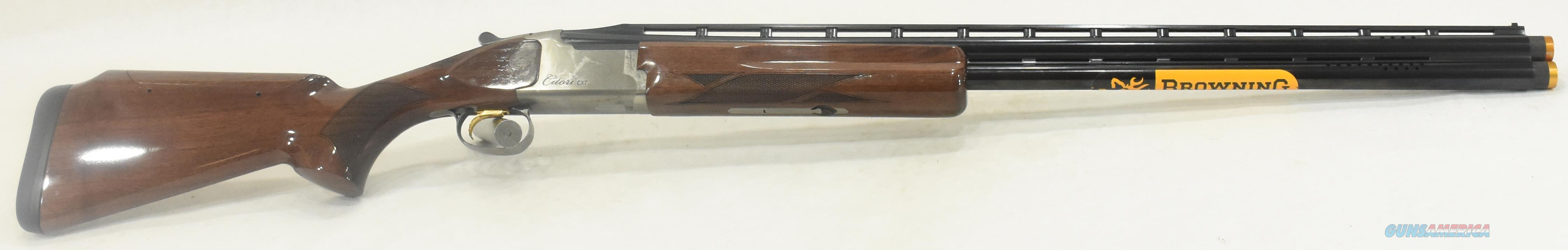 Citori CXT White Adj 12Ga 30-3In 018182326  Guns > Shotguns > Browning Shotguns > Over Unders > Citori > Hunting