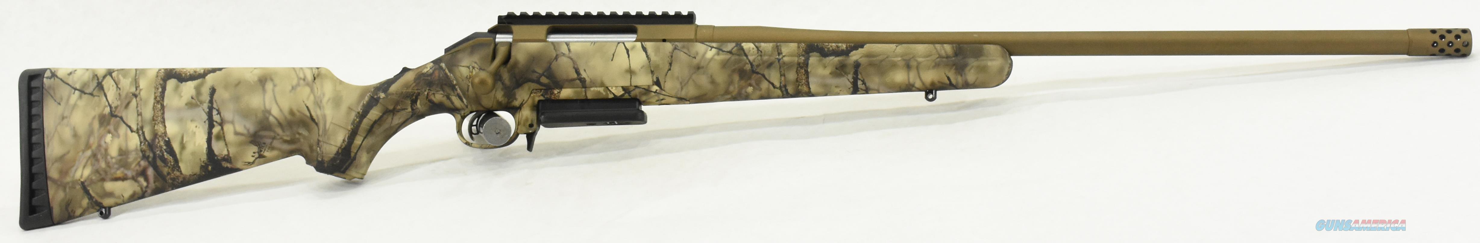 American Go Wild Camo 6.5CM 22In  26925  Guns > Rifles > Ruger Rifles > American Rifle