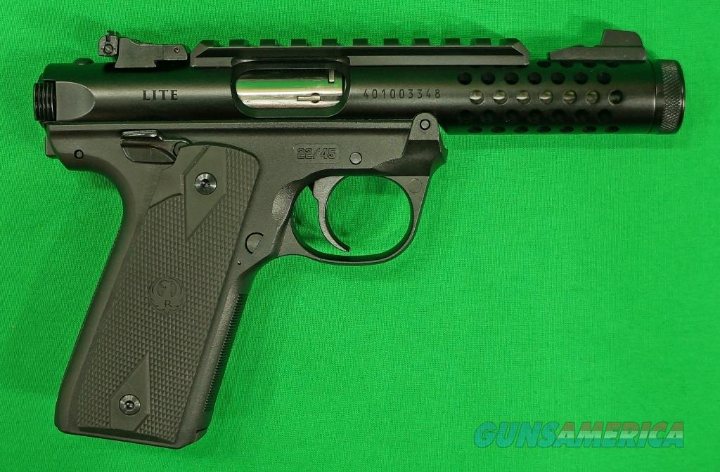 Mark IV Lite 22/45 Black TB 22LR 4.4In  43906  Guns > Pistols > S Misc Pistols
