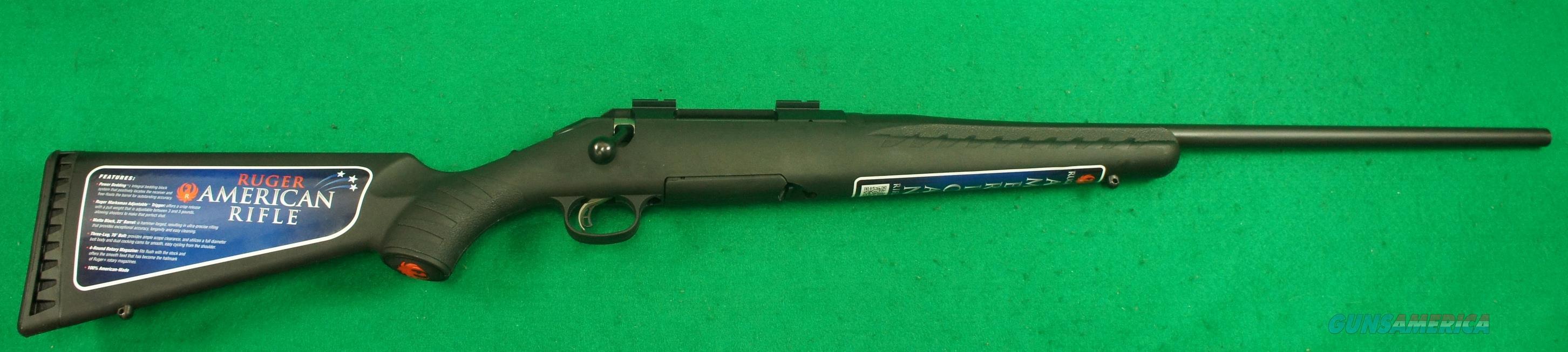 American Rifle Black Syn 30-06Spfld   22In  6901  Guns > Rifles > Ruger Rifles > American Rifle