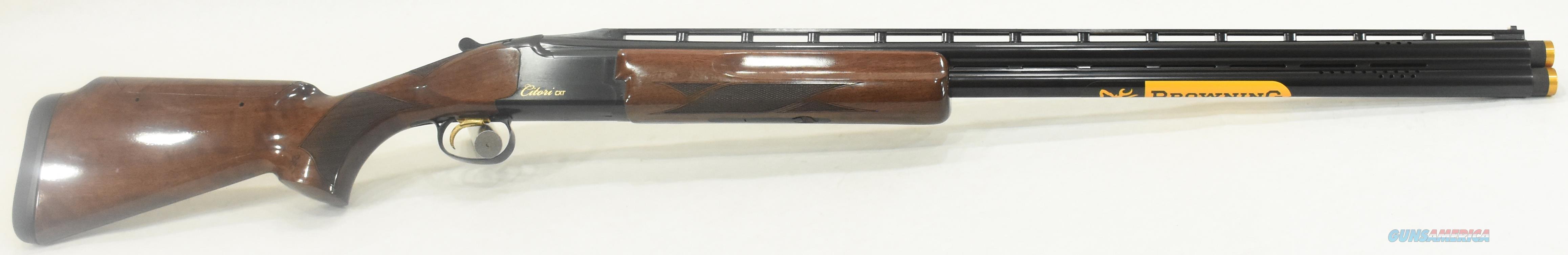 Citori CXT Adjustable 12Ga 30-3In 018075326  Guns > Shotguns > Browning Shotguns > Over Unders > Citori > Hunting