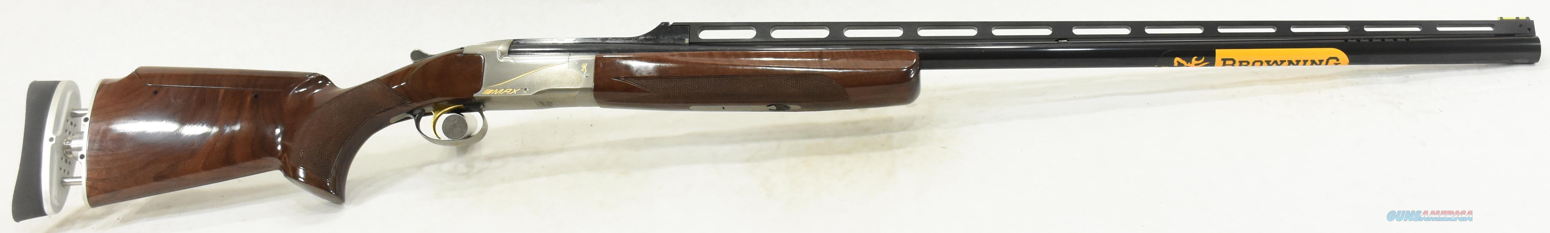 BT99 Max High Grade Adj 12Ga 34-2.75In 017087401  Guns > Shotguns > Browning Shotguns > Over Unders > Other OU > Trap/Skeet