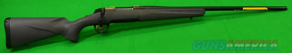 Xbolt Gray Stalker 223Rem 24In 035386208  Guns > Rifles > Browning Rifles > Bolt Action > Hunting > Blue