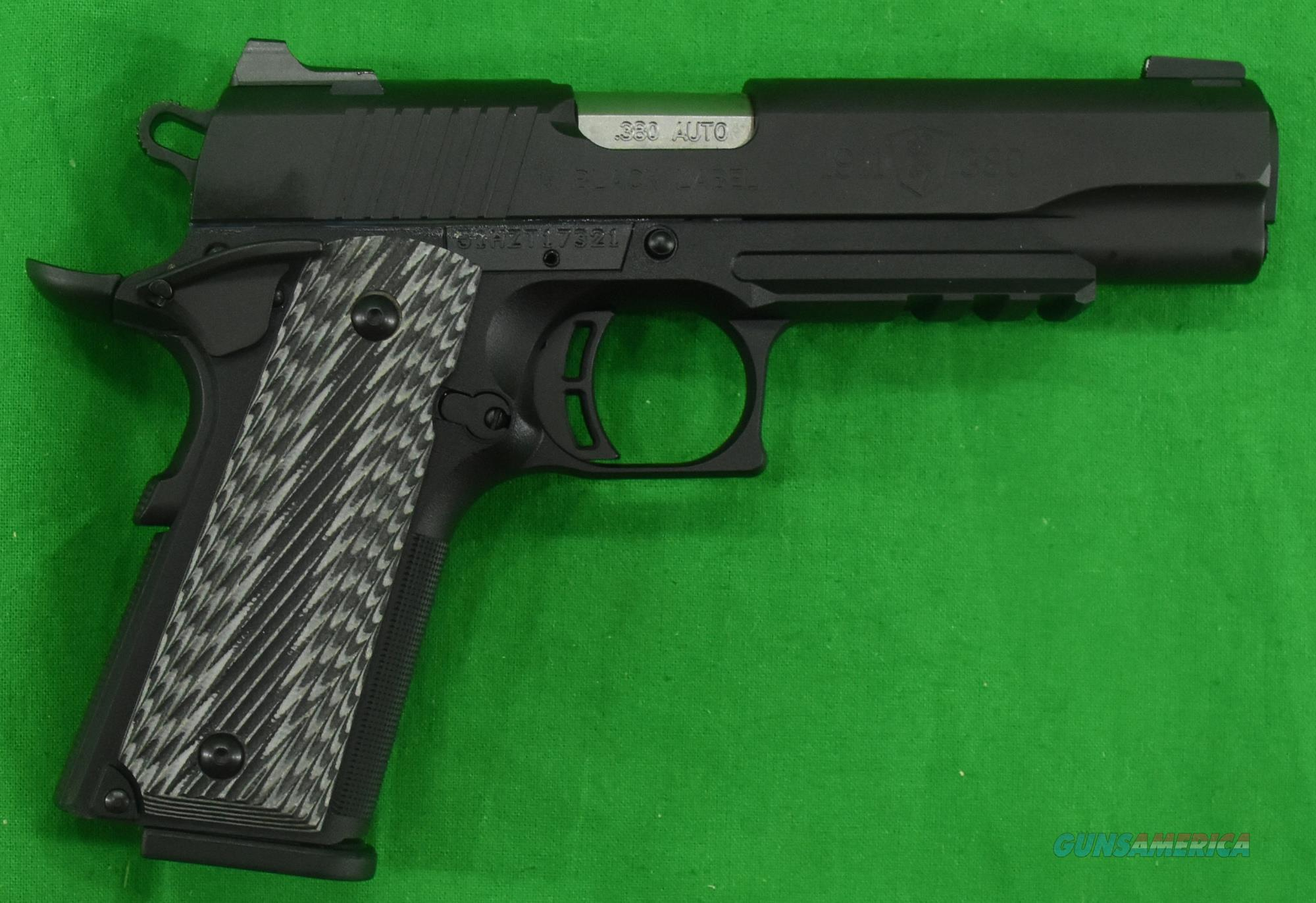 1911 Black Label G10 Rail 380ACP 4.2In  051901492  Guns > Pistols > Browning Pistols > Other Autos