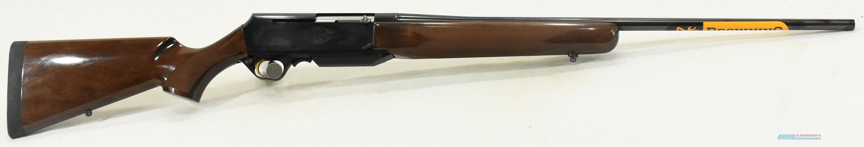BAR Mark II Safari Walnut 308Win 22In  031001218  Guns > Rifles > Browning Rifles > Semi Auto > Hunting