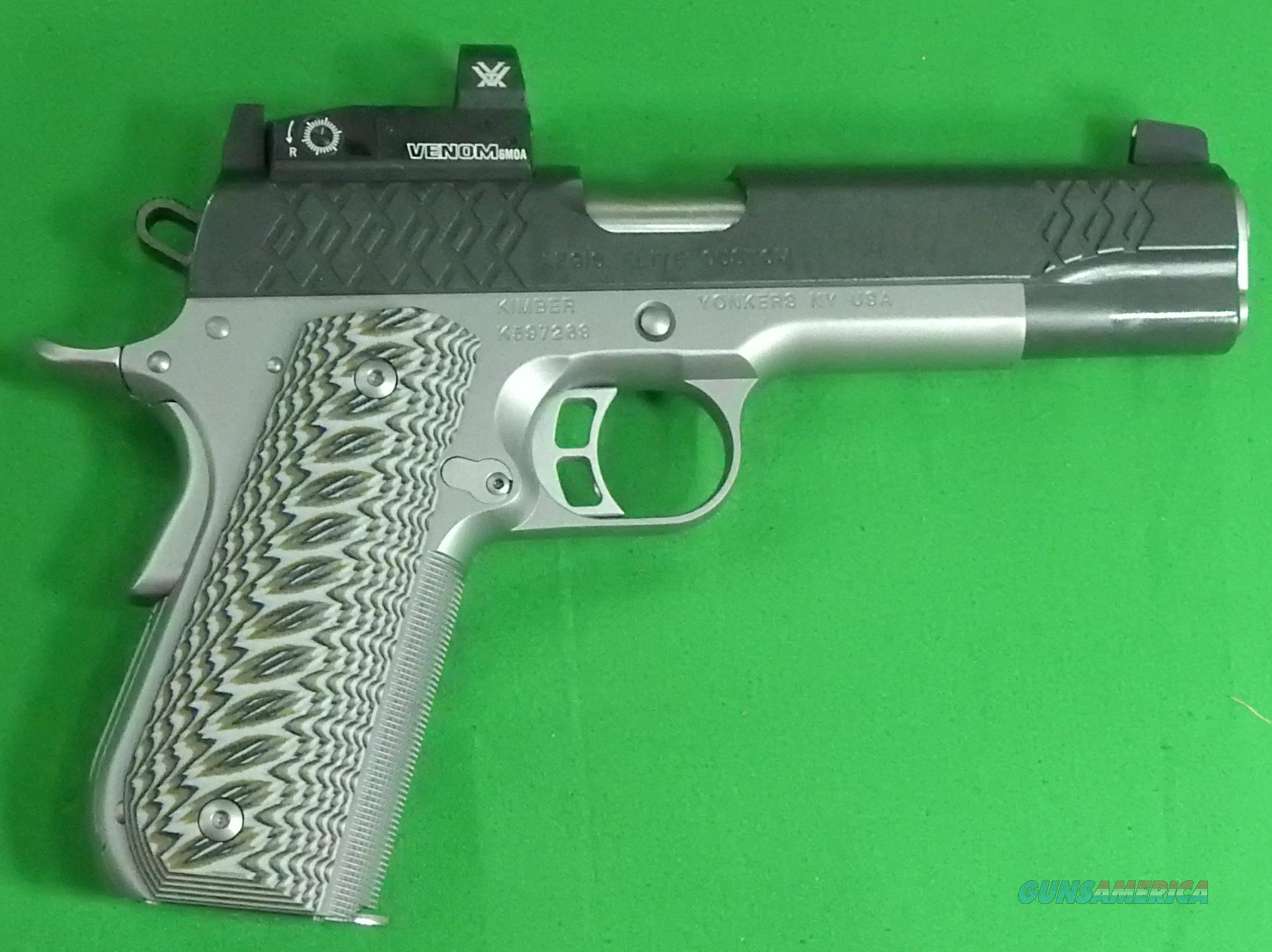 Aegis Elite Custom w/Venom 45ACP 5In  3000352  Guns