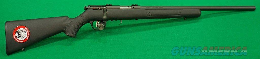 93 FV Syn Black HBar 22WMR 21In  93200  Guns > Rifles > Savage Rifles > Accutrigger Models > Sporting