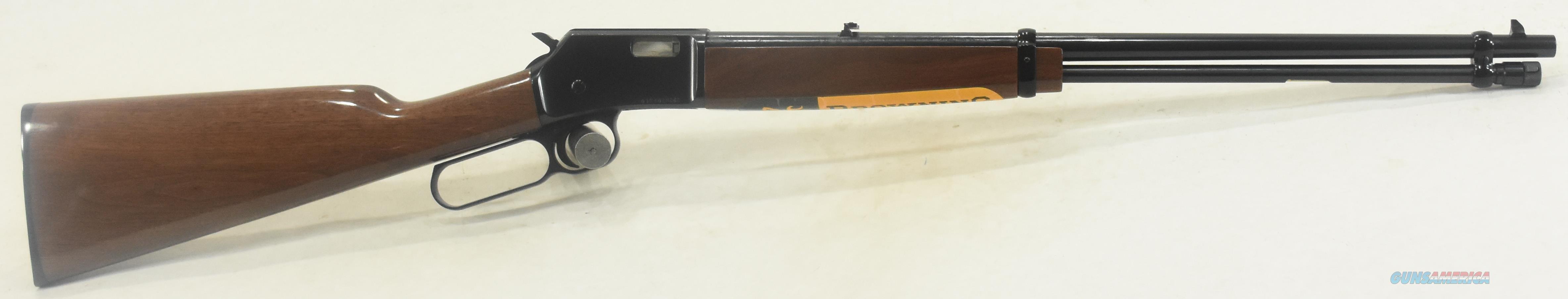 BL-22 Walnut Grade I 22LR 20In  024100103  Guns > Rifles > Browning Rifles > Semi Auto > Hunting