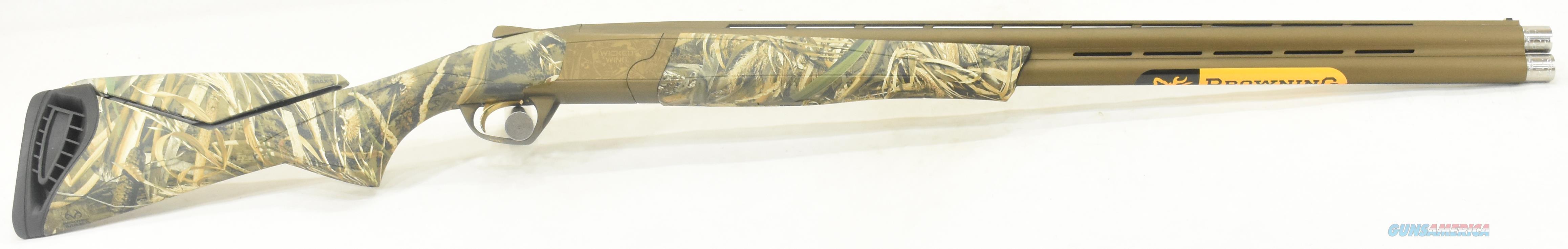 Cynergy Wicked Wing Max5 12Ga 28-3.5In 018717204  Guns > Shotguns > Browning Shotguns > Over Unders > Cynergy > Hunting