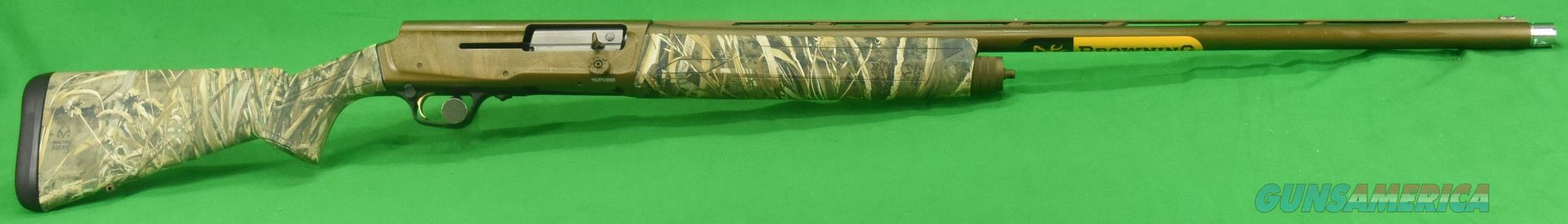 0118422003 Browning A5 Wicked Wing Max 5 Camo 12 Ga 30-3.5In  Guns > Shotguns > Browning Shotguns > Autoloaders > Hunting