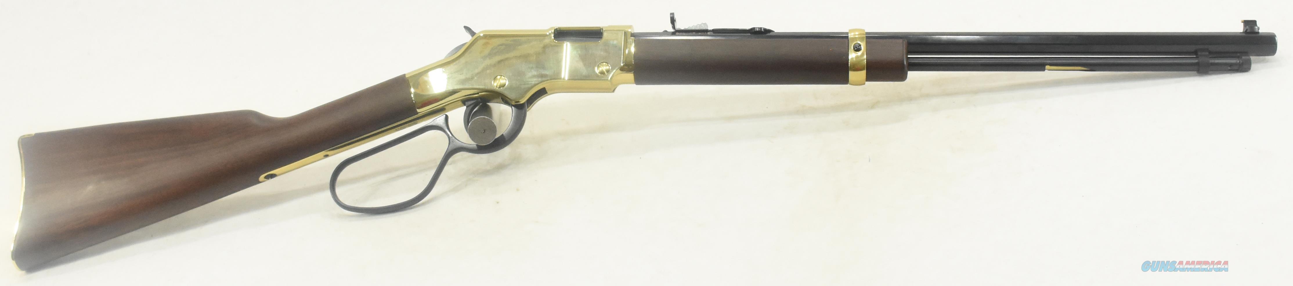 Golden Boy Lever Lrg Loop 17HMR 20In   H004VL  Guns > Rifles > Henry Rifles - Replica