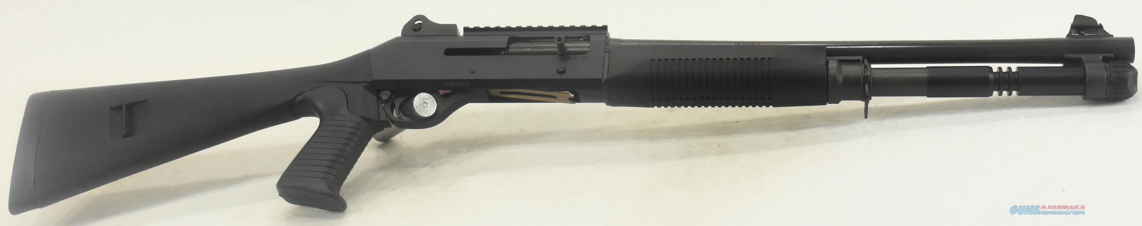 11707 Benelli M4 Tactical Shotgun All Black 12 Ga 18In  Guns > Shotguns > Benelli Shotguns > Sporting