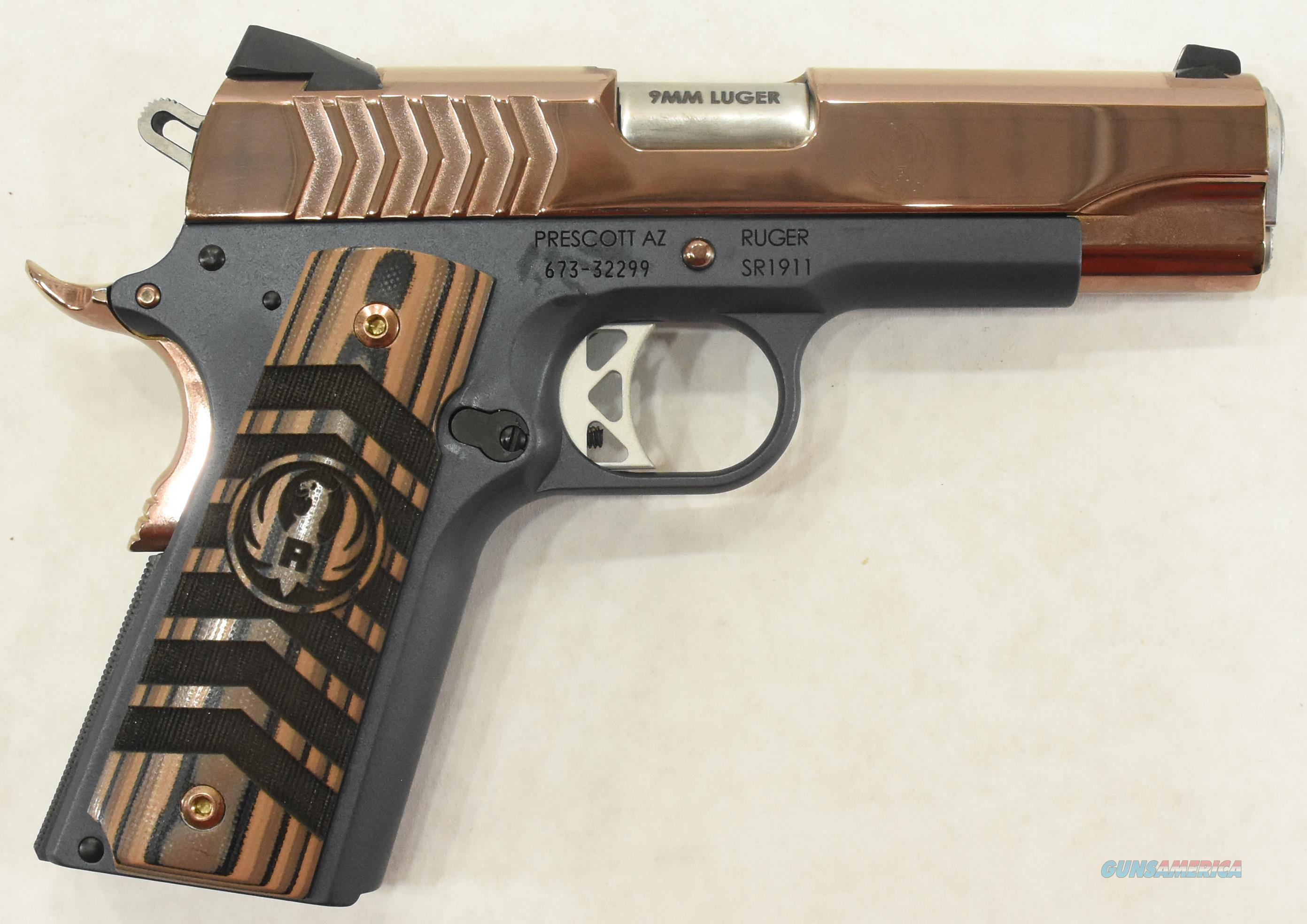 SR1911 Commander RoseGold 9mm 4.25In  6768  Guns > Pistols > S Misc Pistols