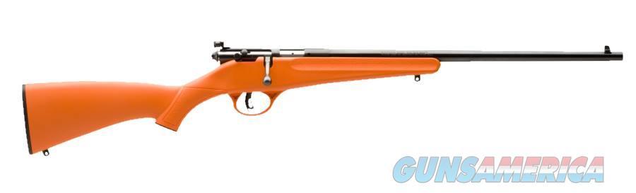 Rascal Youth Orange 22LR 16.1In  13810  Guns > Rifles > Savage Rifles > Accutrigger Models