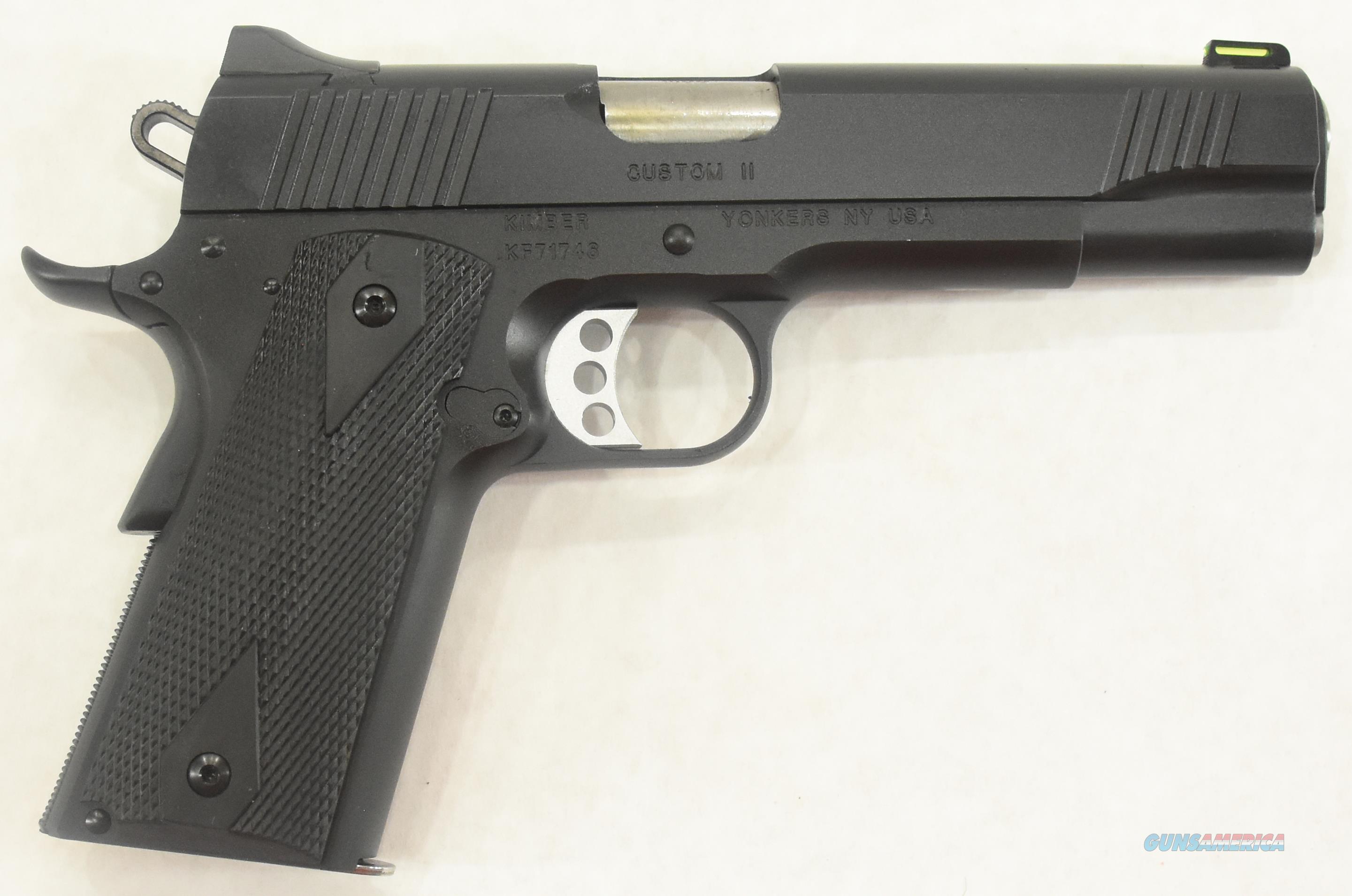 1911 Custom II Black GFO 10mm 5In  3700551  Guns