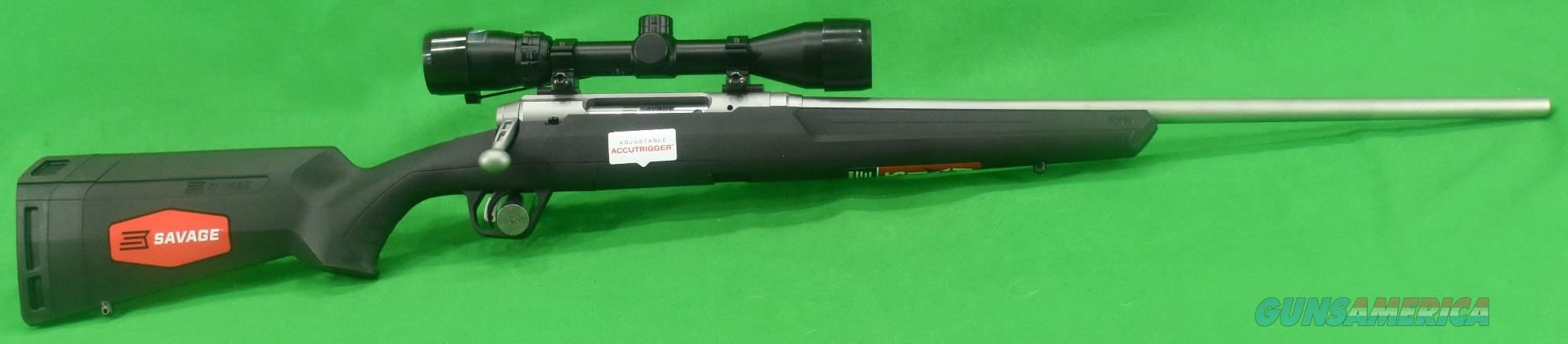 Axis II XP Stainless 243Win 22In  57103  Guns > Rifles > Savage Rifles > Axis
