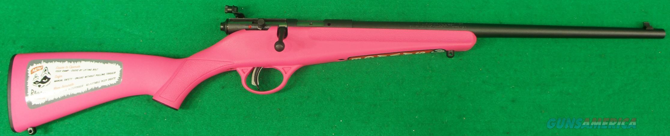 Rascal Youth Pink Single 22LR 16.1In  13780  Guns > Rifles > Savage Rifles > Accutrigger Models > Sporting