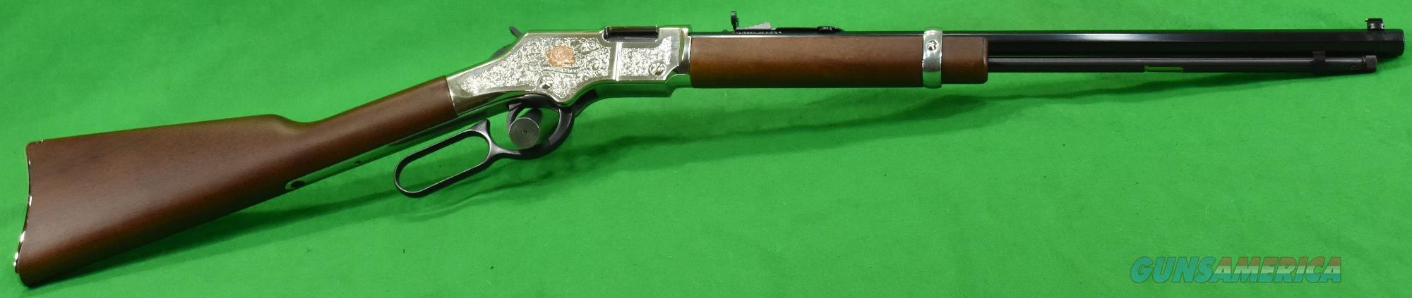 American Beauty Silver Engrv 22Lr 20In  H004AB  Guns > Rifles > Henry Rifles - Replica
