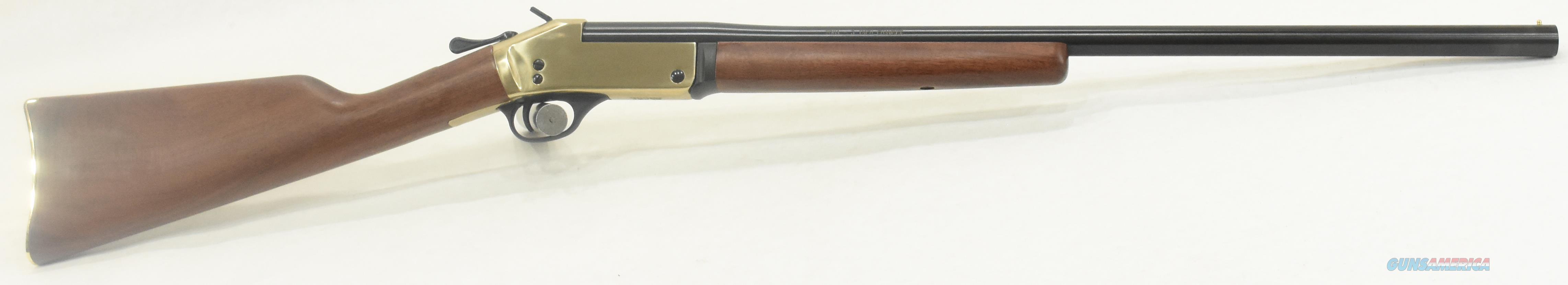 Singleshot Brass 20Ga 26In  H015B-20  Guns > Rifles > Henry Rifles - Replica
