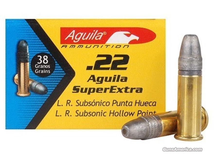 Aguila 22lr Ammo 1000 rounds!! Non-Guns > Ammunition
