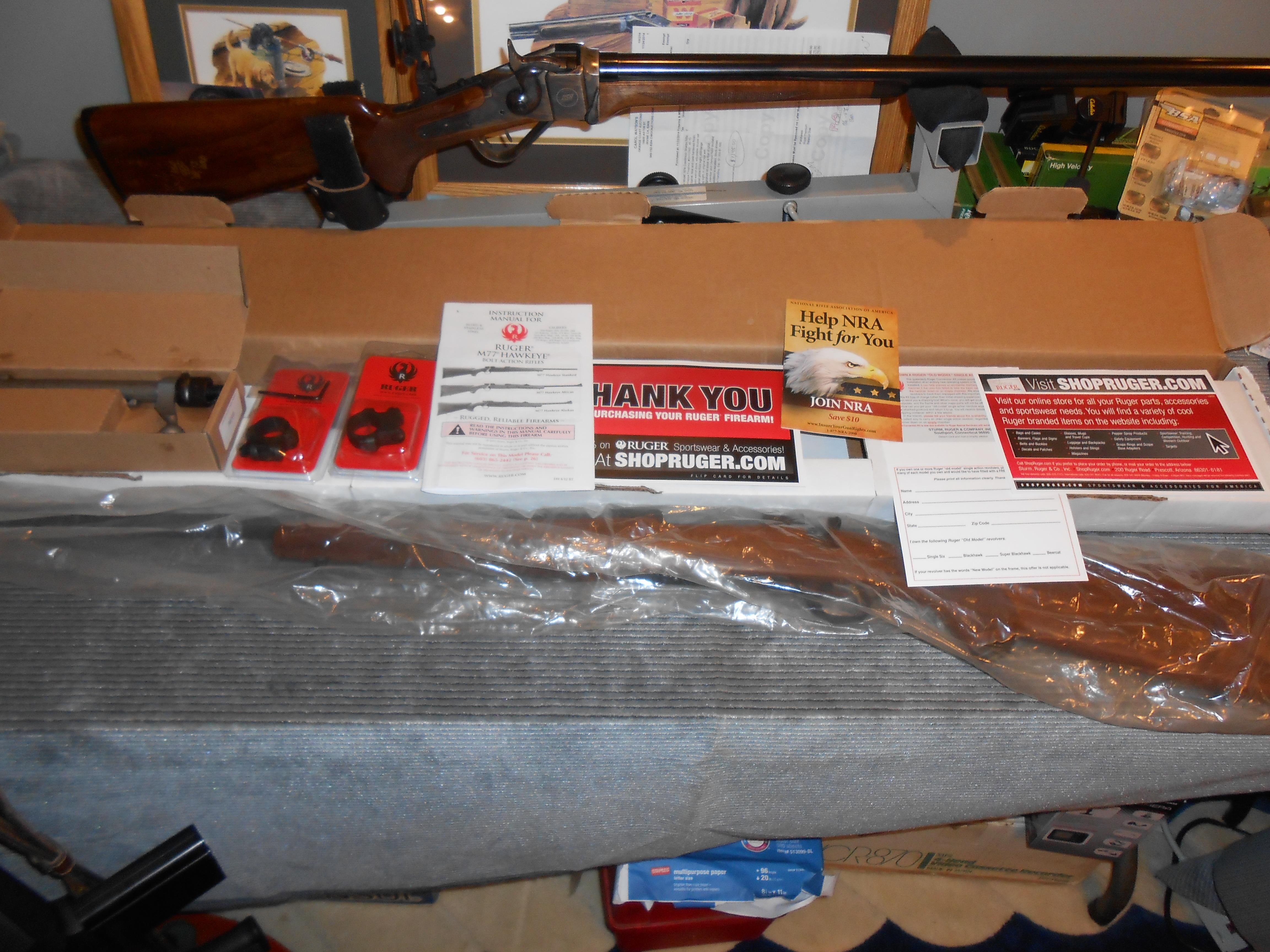 Left Hand NIB Ruger Hawkeye 300 Mag  Guns > Rifles > Ruger Rifles > Model 77