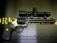 Colt Python Hunter As New  Guns > Pistols > Colt Double Action Revolvers- Modern