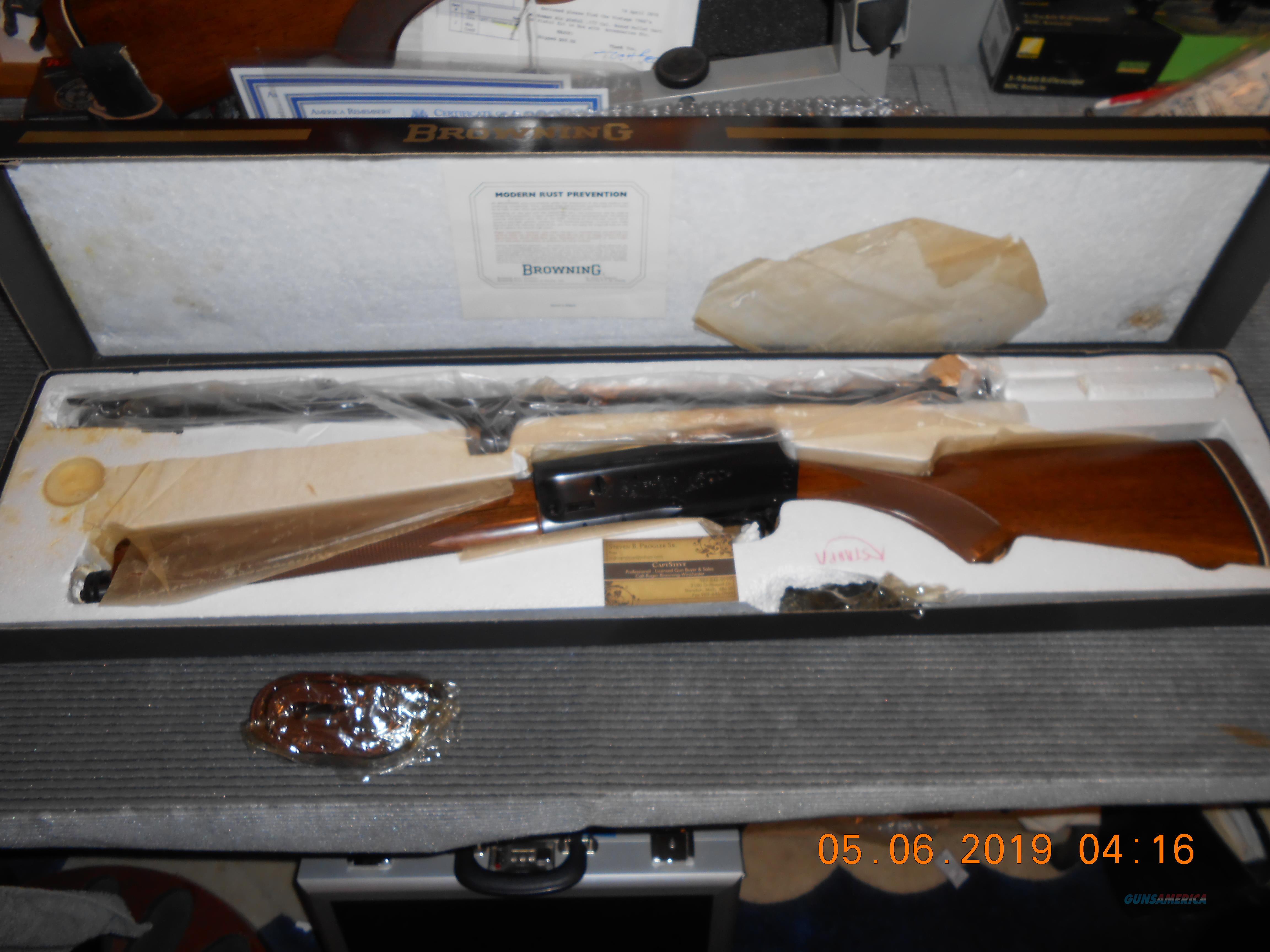 NOS Belgium Browning A5 Big Game  12 Magnum SCARCE  Guns > Shotguns > Browning Shotguns > Autoloaders > Hunting