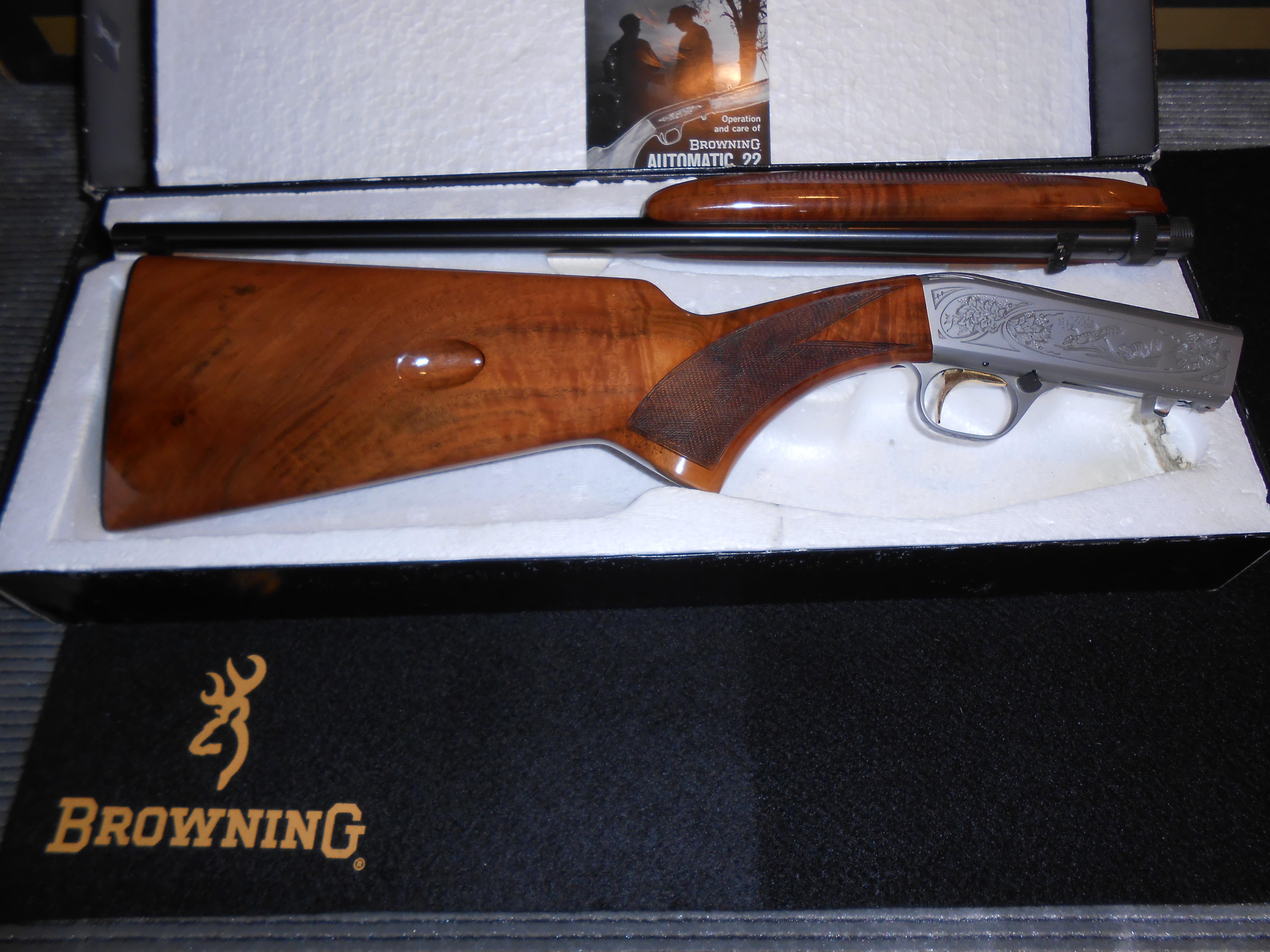 Unfired Grade 2 Browning ATD 22Lr  Miroku  Guns > Rifles > Browning Rifles > Semi Auto > Hunting