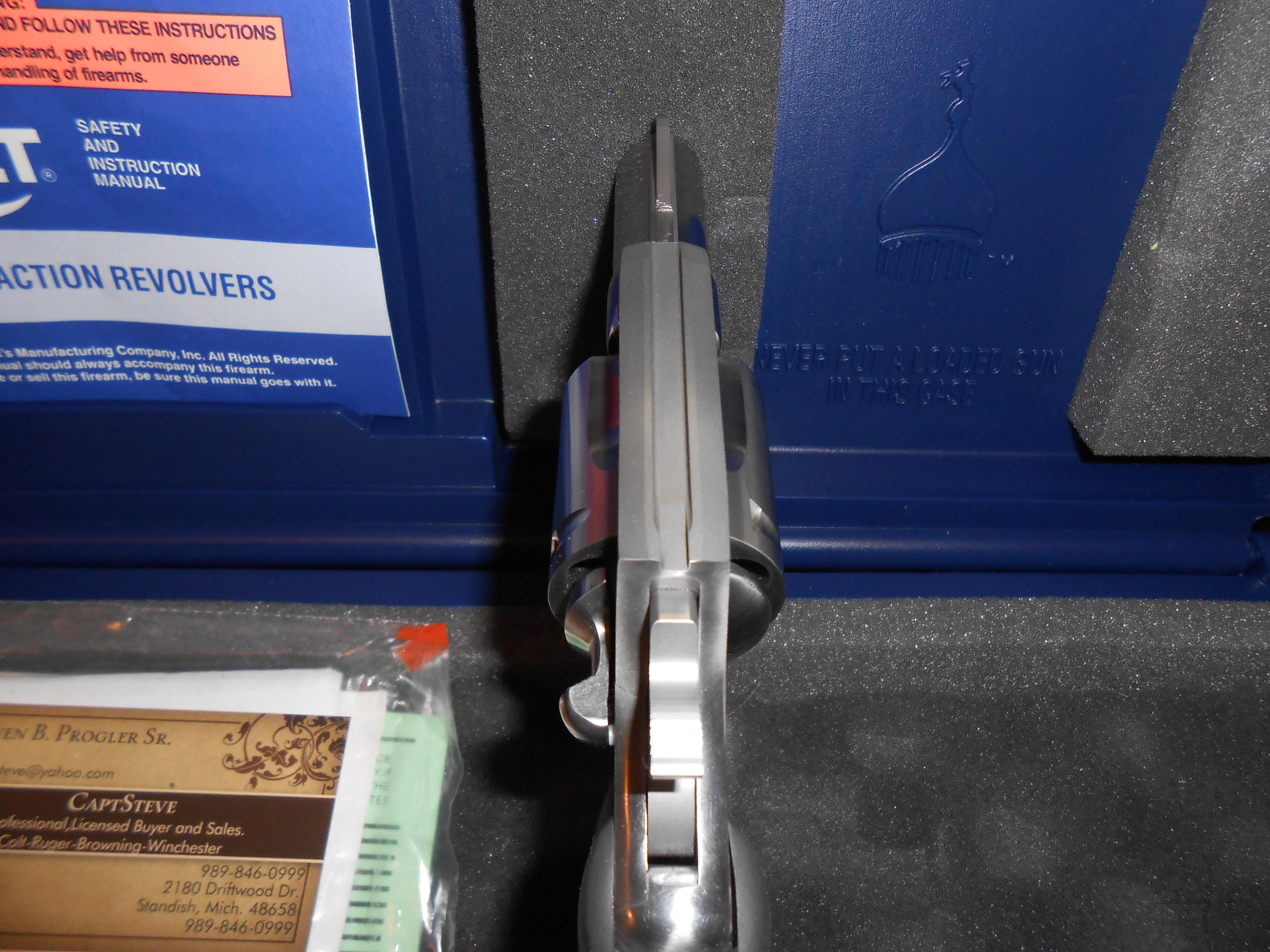Colt Carry Magnum Complete Nice, Rare  Guns > Pistols > Colt Double Action Revolvers- Modern