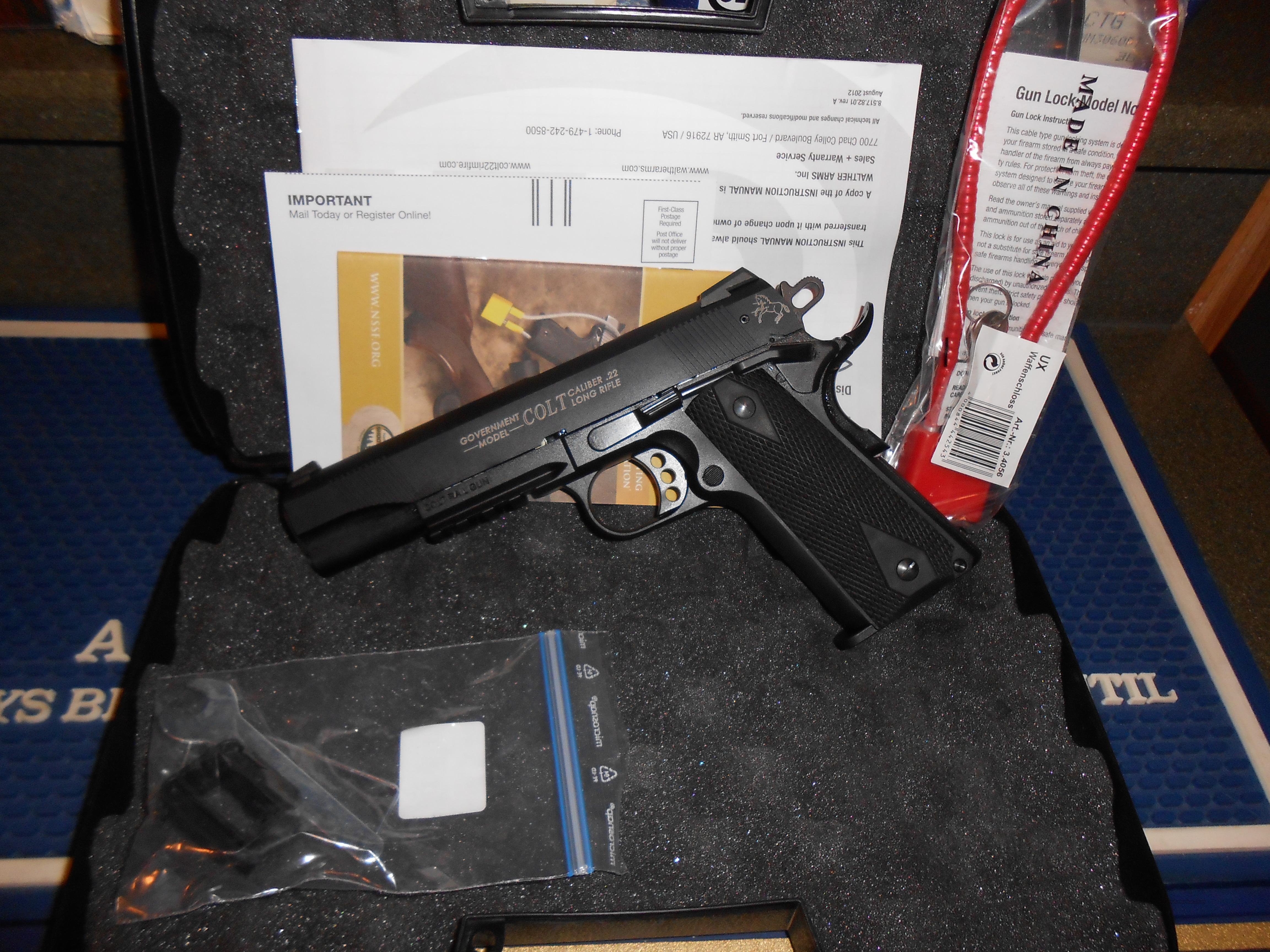 Colt 1911 Rail Gun 22Lr.  Guns > Pistols > Colt Automatic Pistols (22 Cal.)
