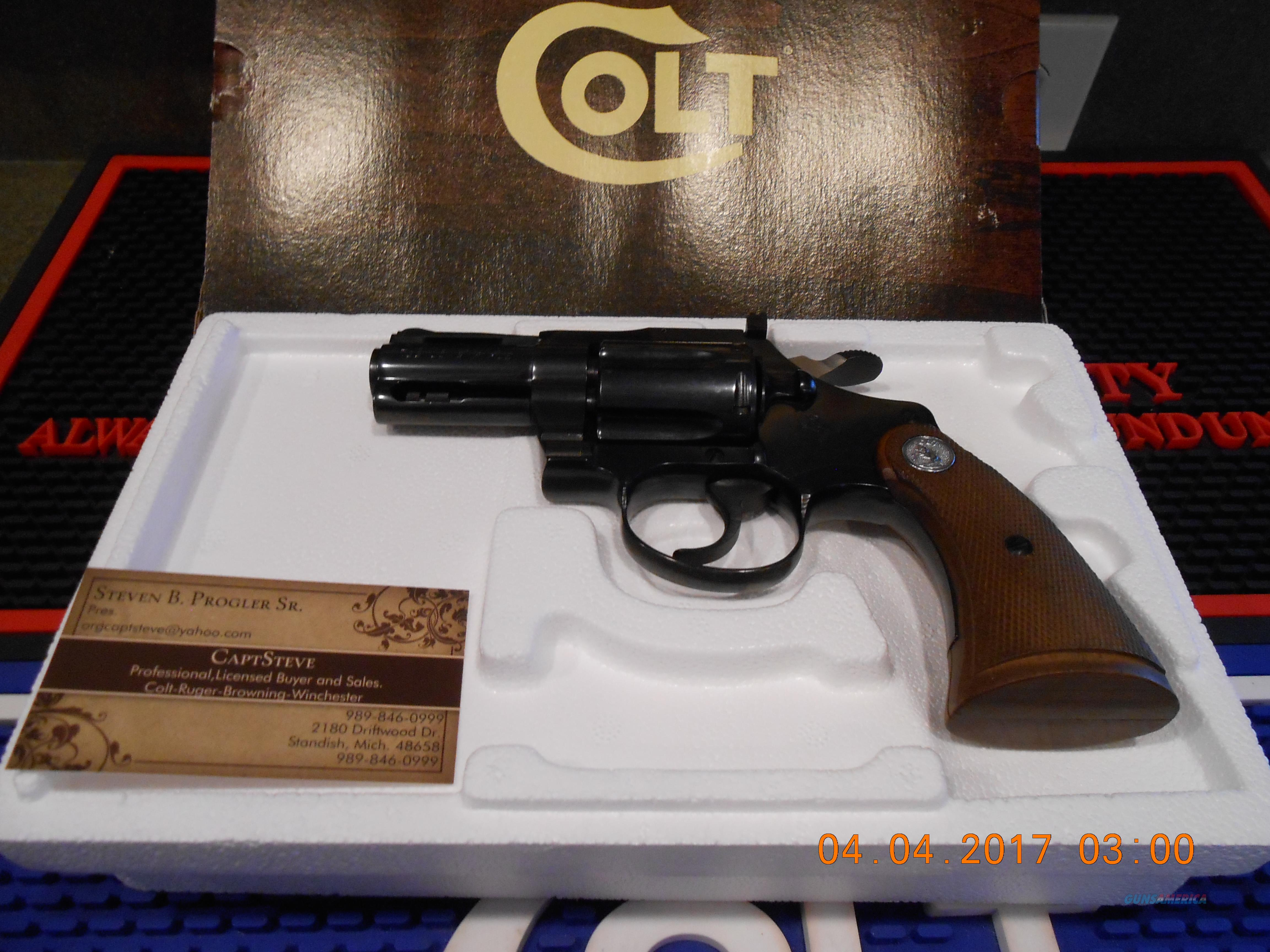 "Colt 2 1/2"" Diamondback 22 LR. Blue Unfired  Guns > Pistols > Colt Double Action Revolvers- Modern"