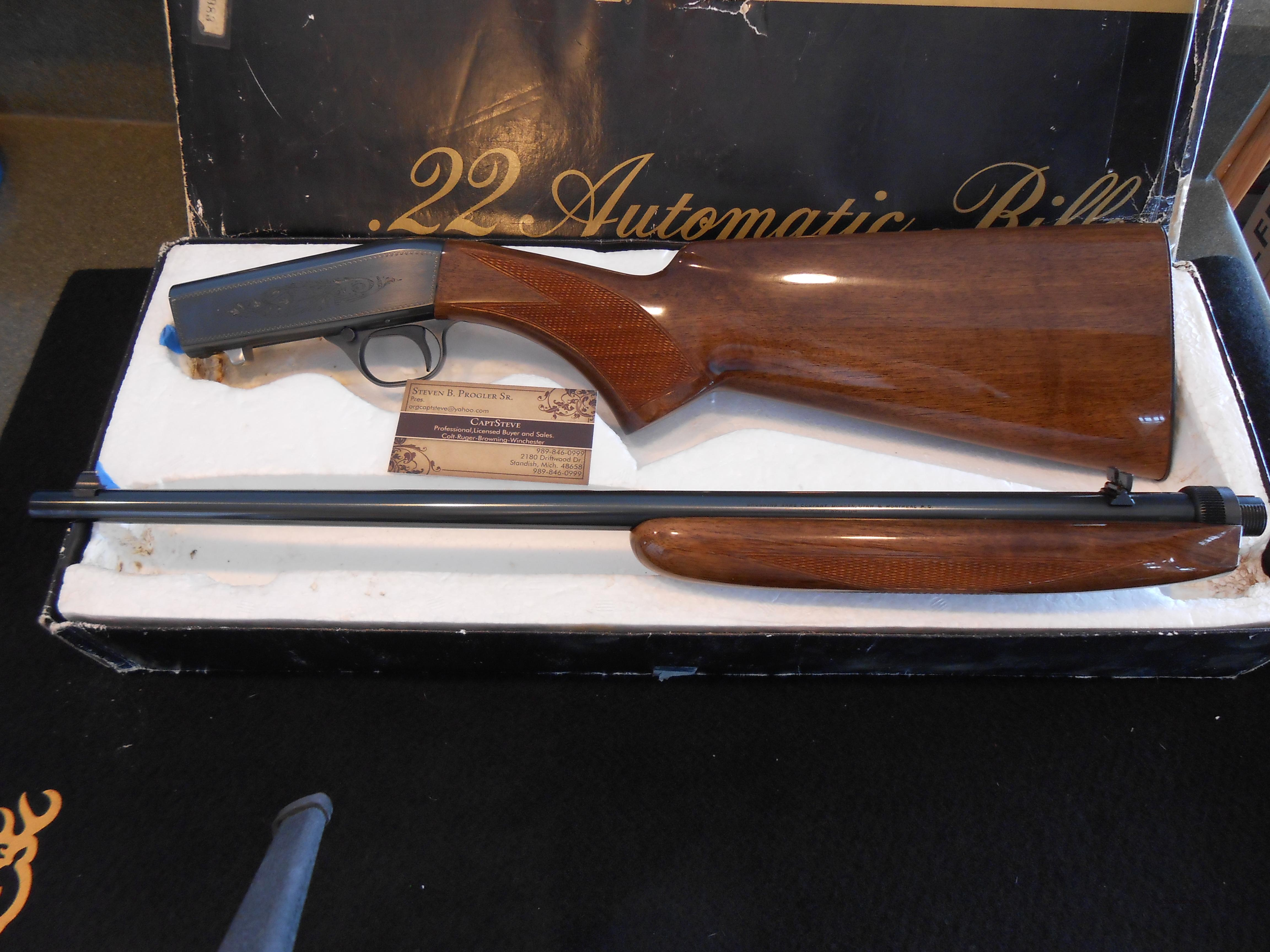 Unfired Belgium Browning ATD Gr 1 Complete  Guns > Rifles > Browning Rifles > Semi Auto > Hunting