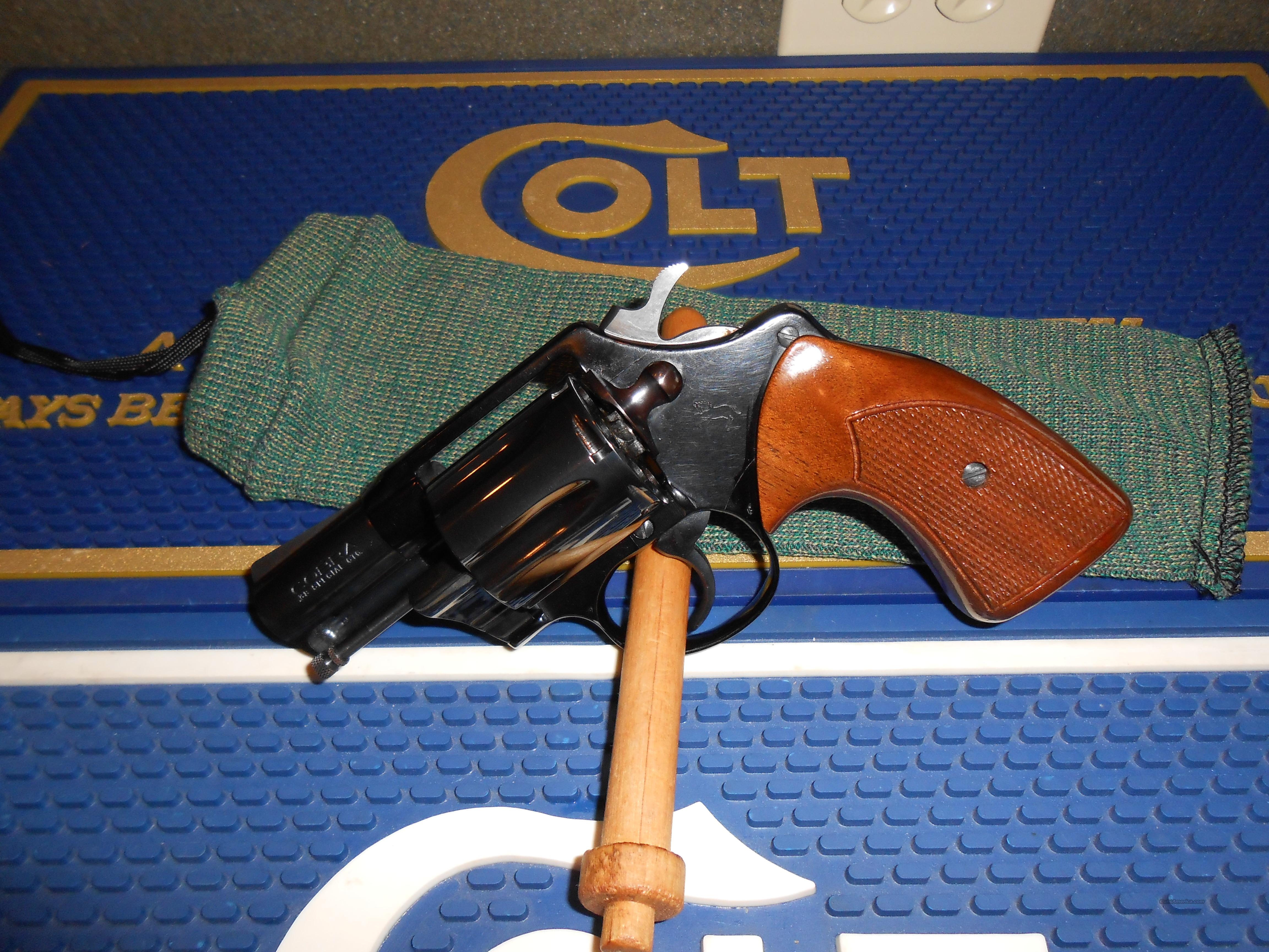 "As New Colt Cobra Airweight 2"" 38 Cal.  Guns > Pistols > Colt Double Action Revolvers- Modern"