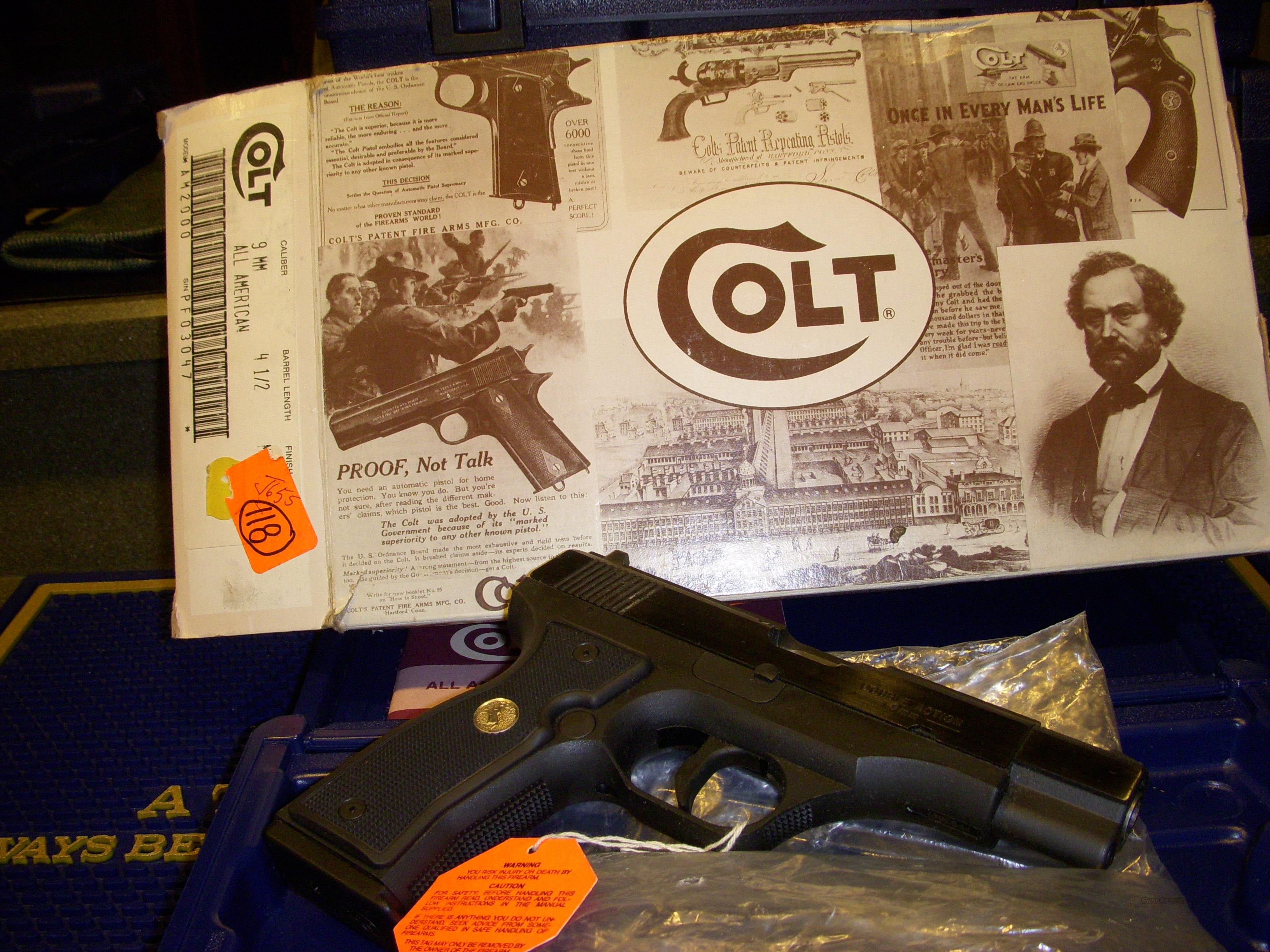 Unfired All American NIB Complete  Guns > Pistols > Colt Automatic Pistols (1911 & Var)