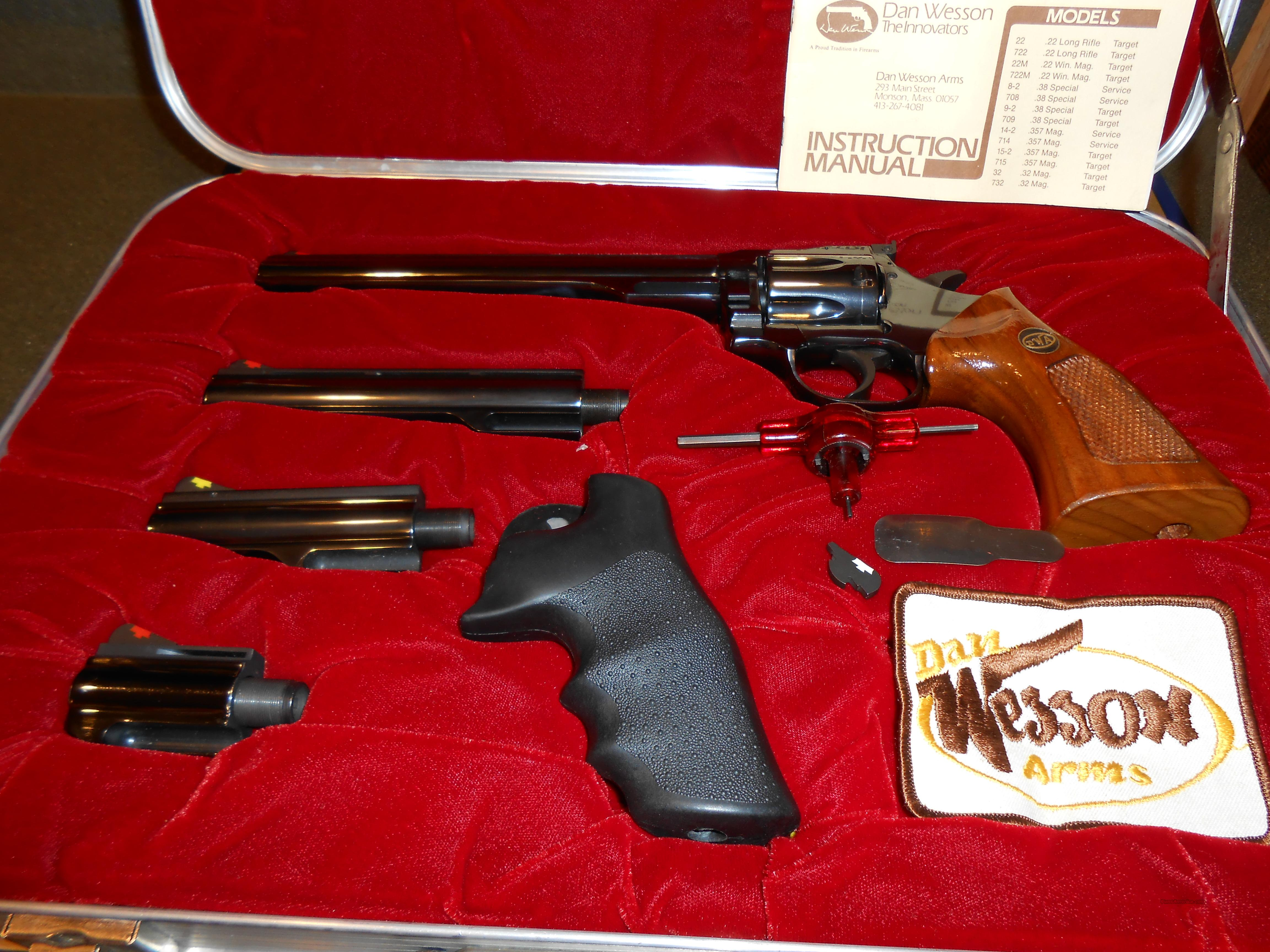 Pistol Pac Dan Wesson Unfired? Complete  Guns > Pistols > Dan Wesson Pistols/Revolvers > Revolvers