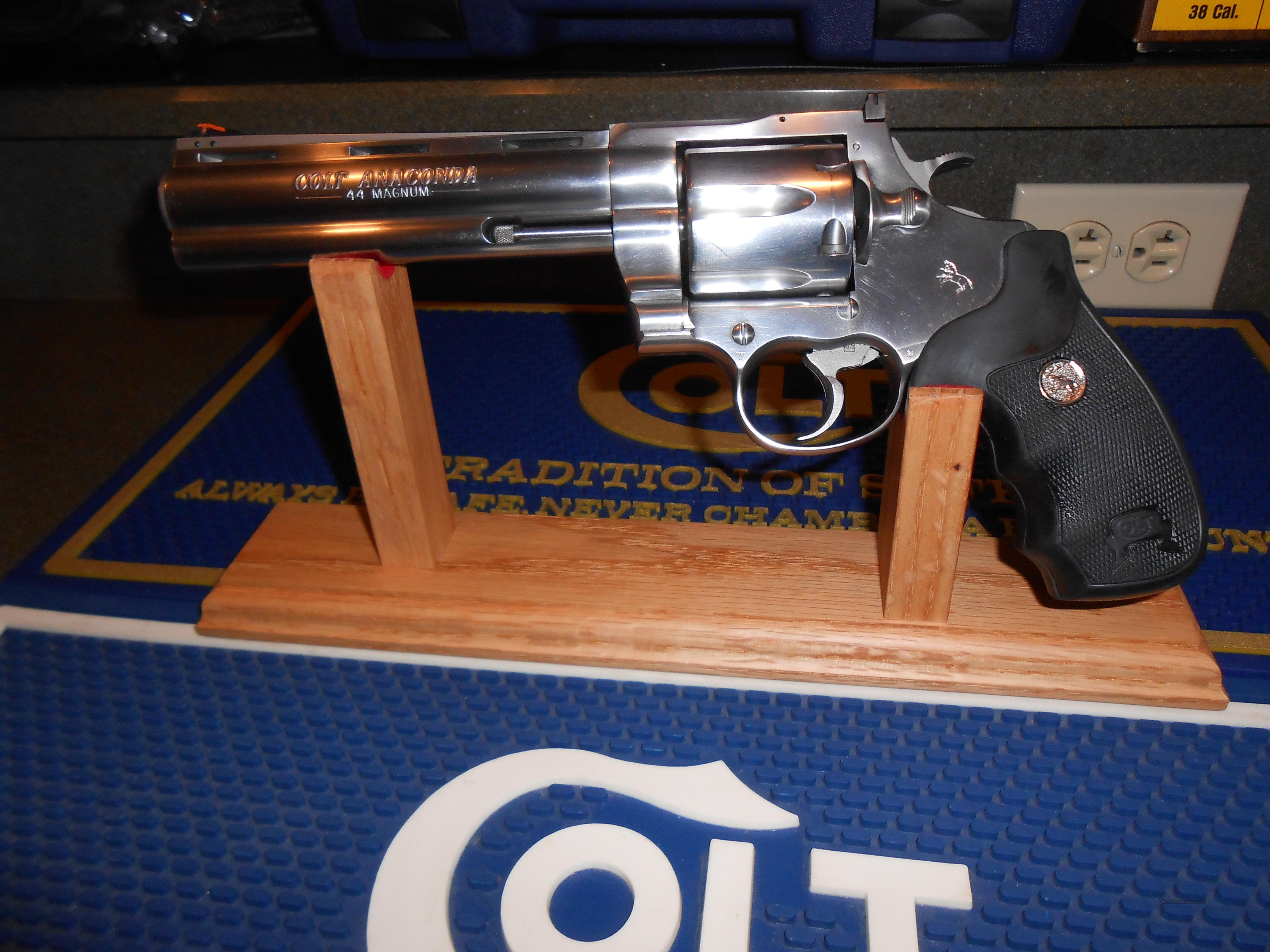"Colt Anaconda 6"" Custom Shop. Nice !!  Guns > Pistols > Colt Double Action Revolvers- Modern"
