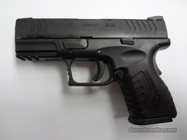"Springfield Armory XDM 9MM Luger 3.8"" Compact  Guns > Pistols > Springfield Armory Pistols > XD-M"