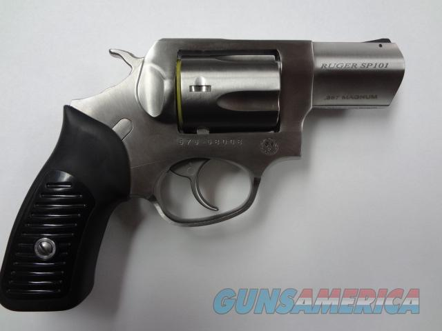 "Ruger SP101 357 Mag 5 Shot 2.25"" Stainless     Guns > Pistols > Ruger Double Action Revolver > SP101 Type"