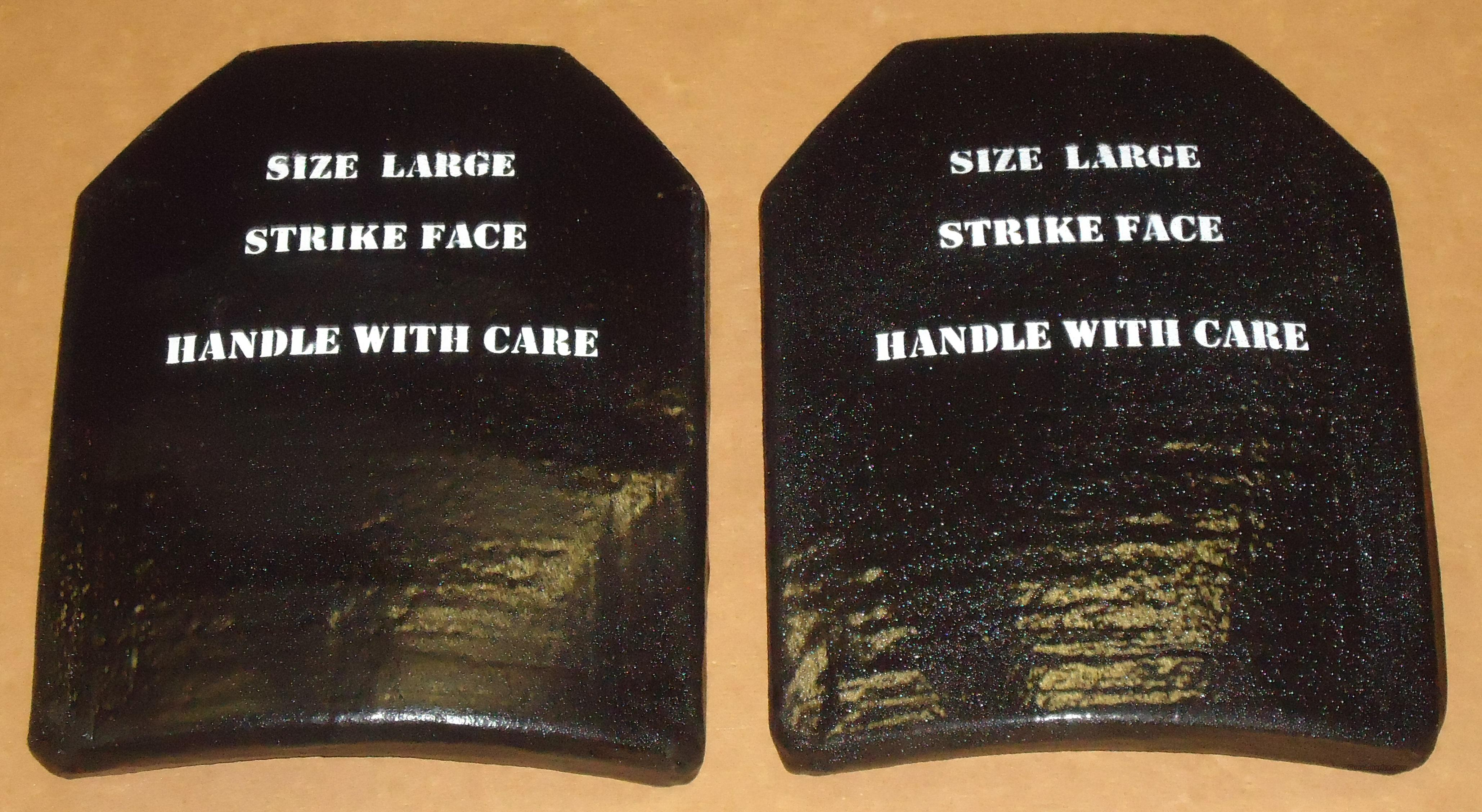Armor SAPI Plates Level III LARGE M-80 Ball (2)  Non-Guns > Tactical Equipment/Vests