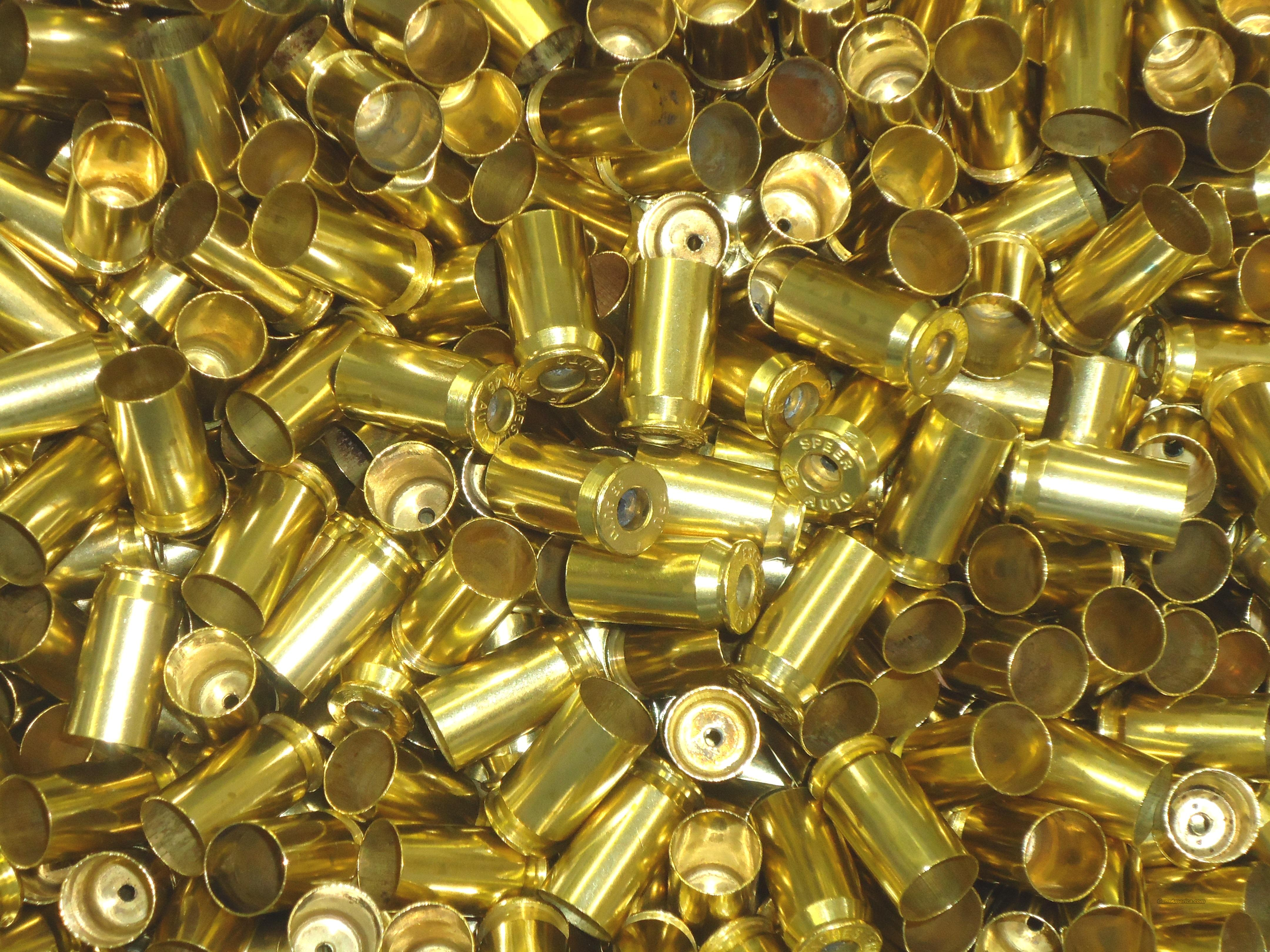 45 .45 ACP LARGE PRIMER Fired Brass PROCESSED (1000)  Non-Guns > Reloading > Components > Brass