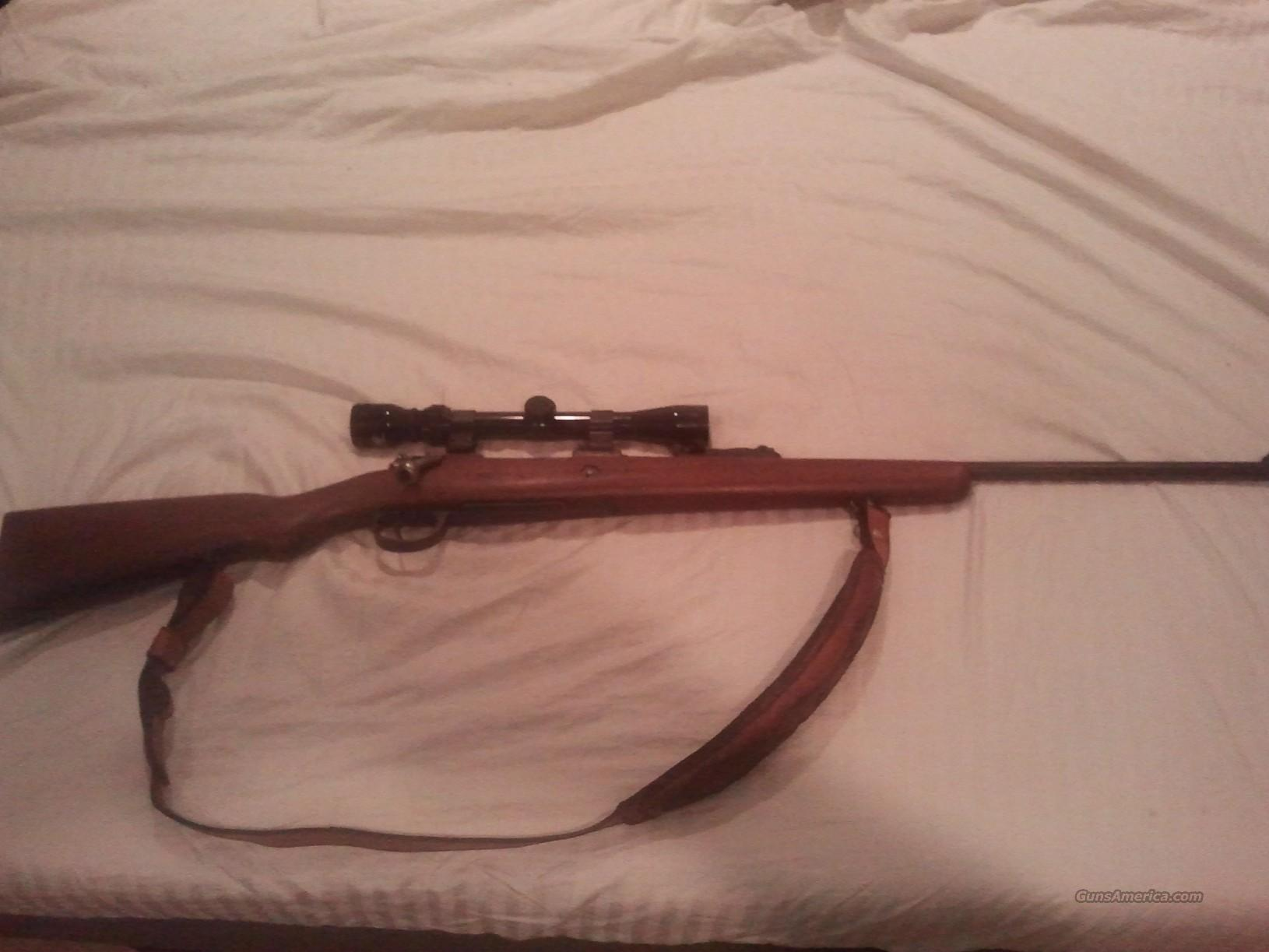 Argentine Mauser 1909 w scope for sale