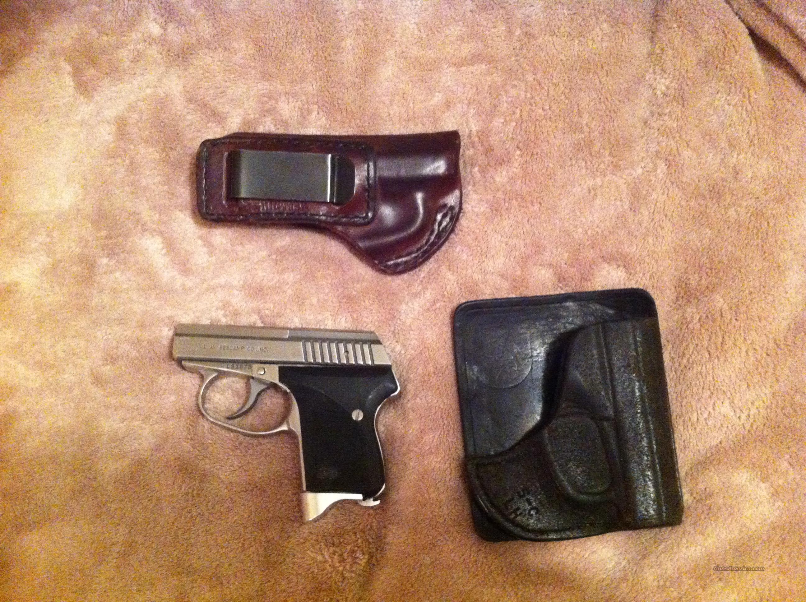 Seecamp LWS380 Like New w/2 Holsters   Guns > Pistols > Seecamp Pistols
