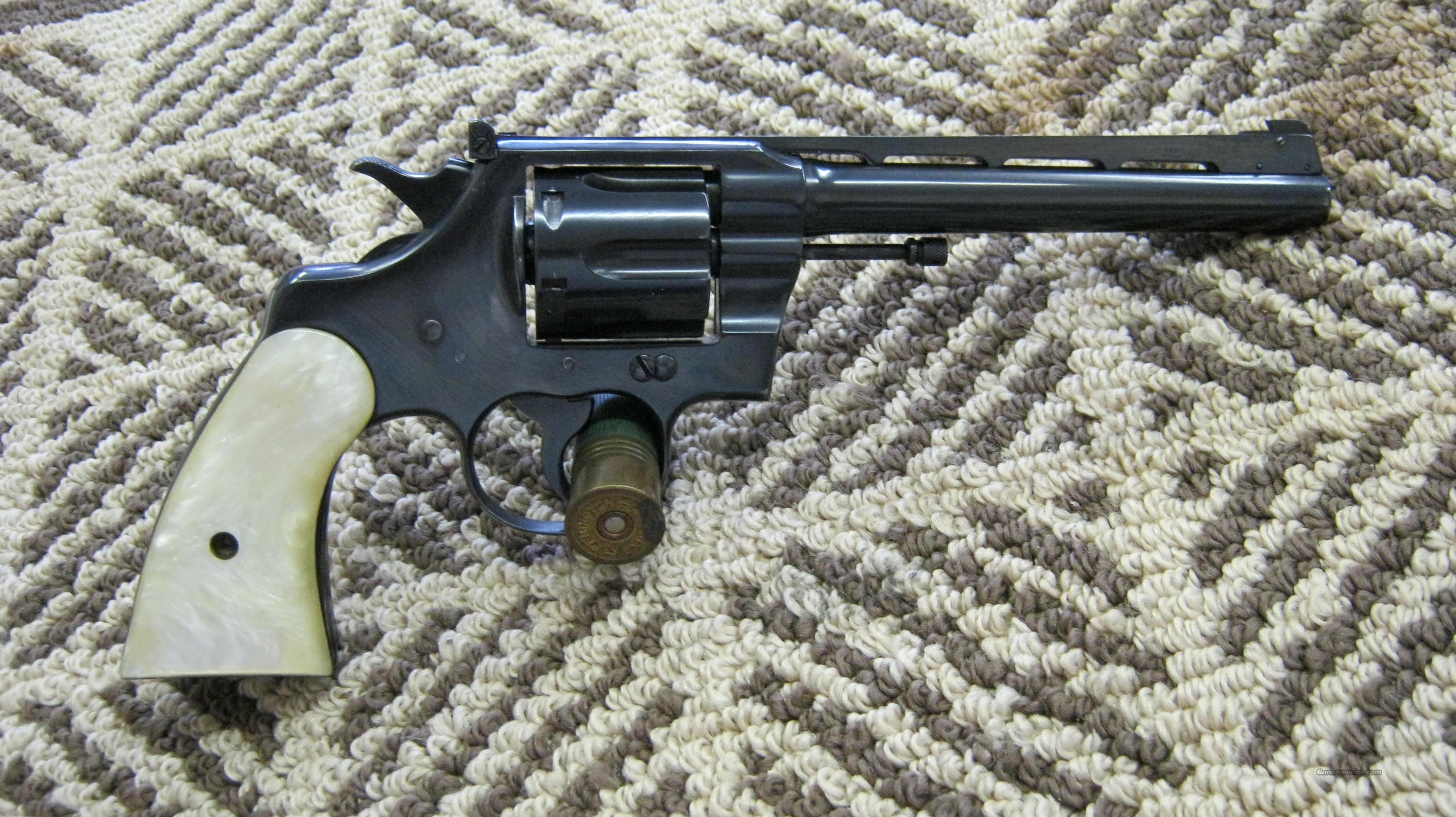 Colt King Super Target .38 Spl  Guns > Pistols > Colt Double Action Revolvers- Pre-1945