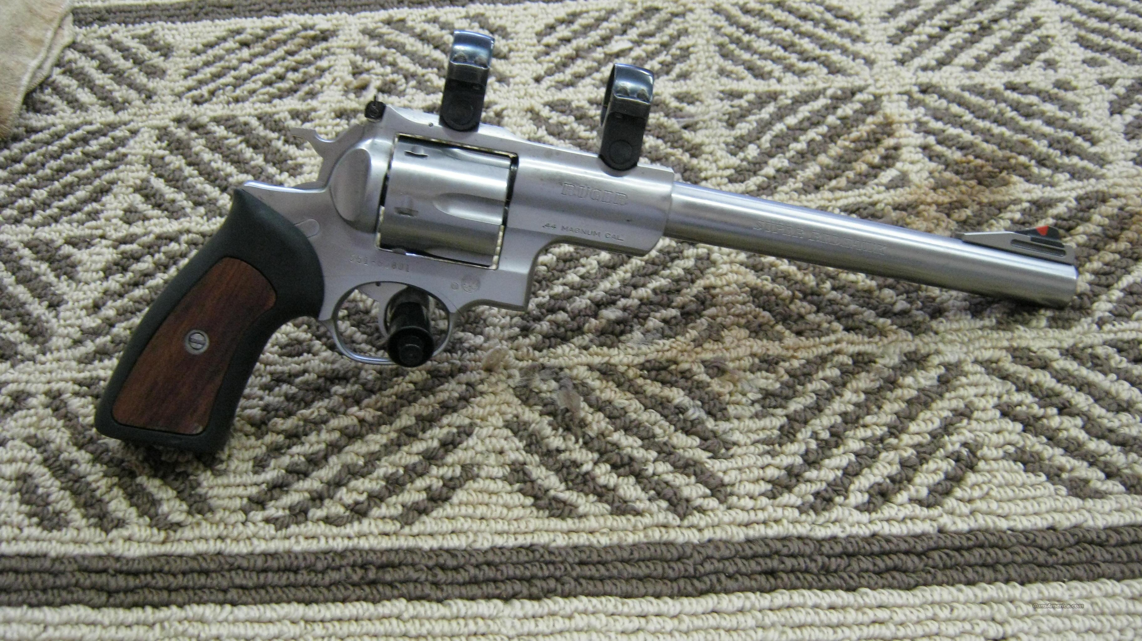 "Ruger Redhawk Stainless 9 1/2""  Guns > Pistols > Ruger Double Action Revolver > Redhawk Type"